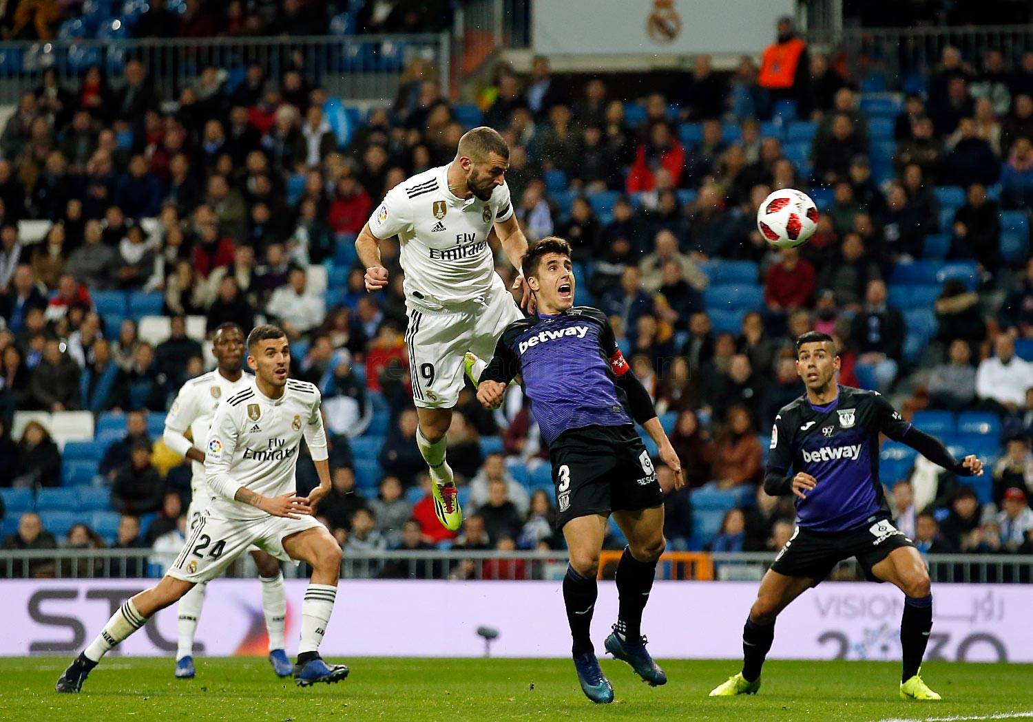 Real Madrid - Real Madrid - Leganés - 09-01-2019