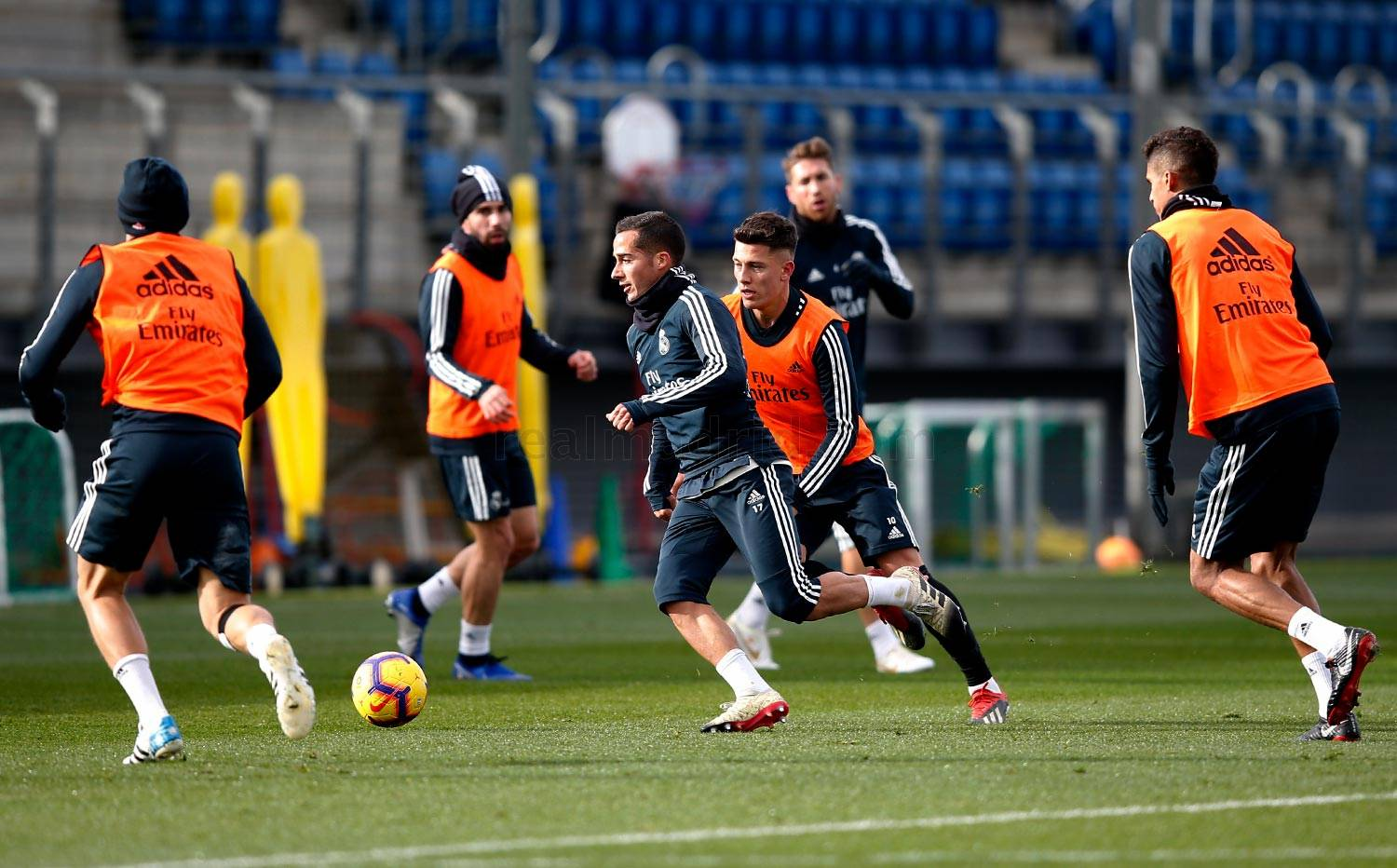 Real Madrid - Entrenamiento del Real Madrid - 13-12-2018