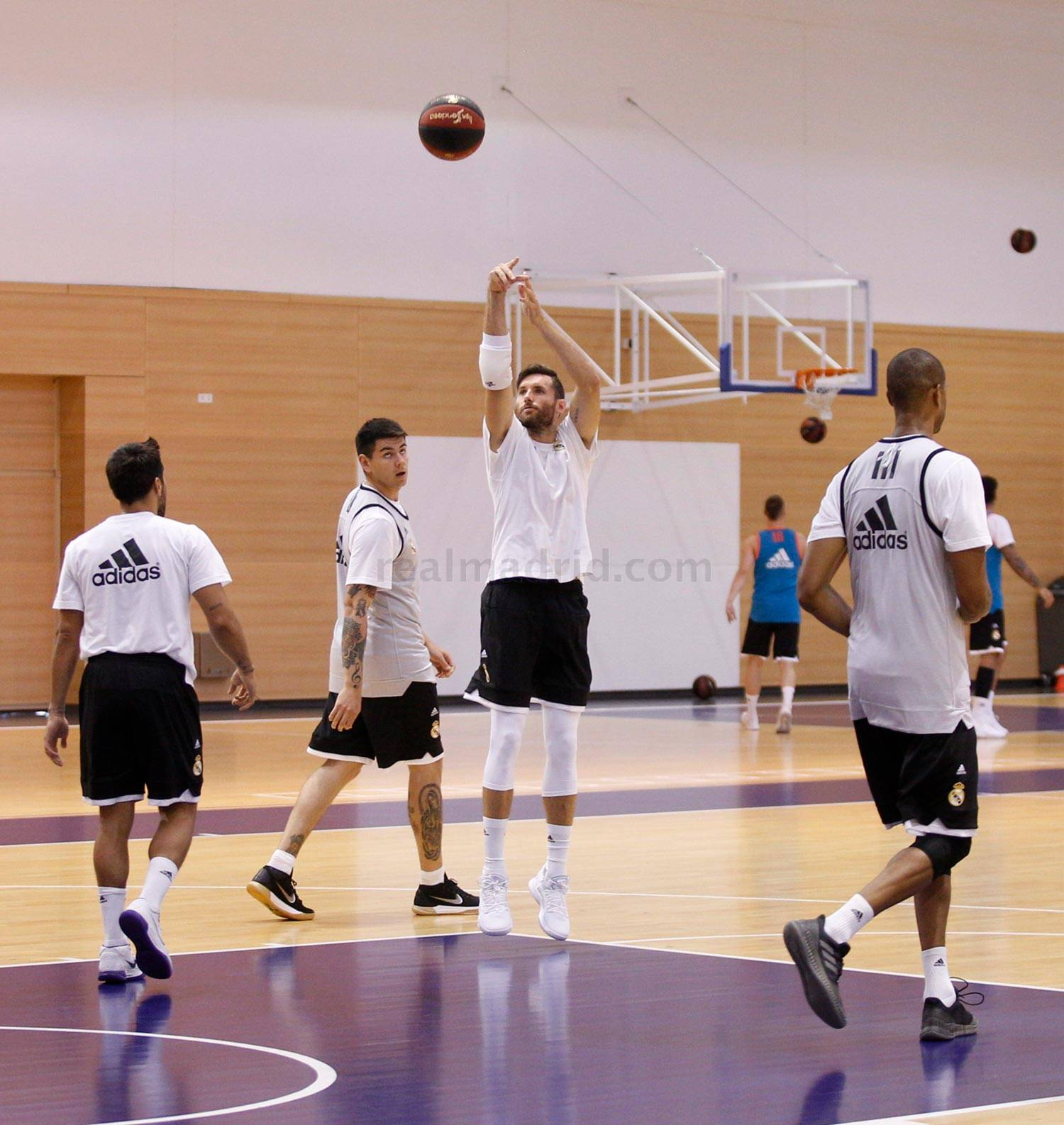 Real Madrid - Entrenamiento del Real Madrid de baloncesto - 27-08-2018