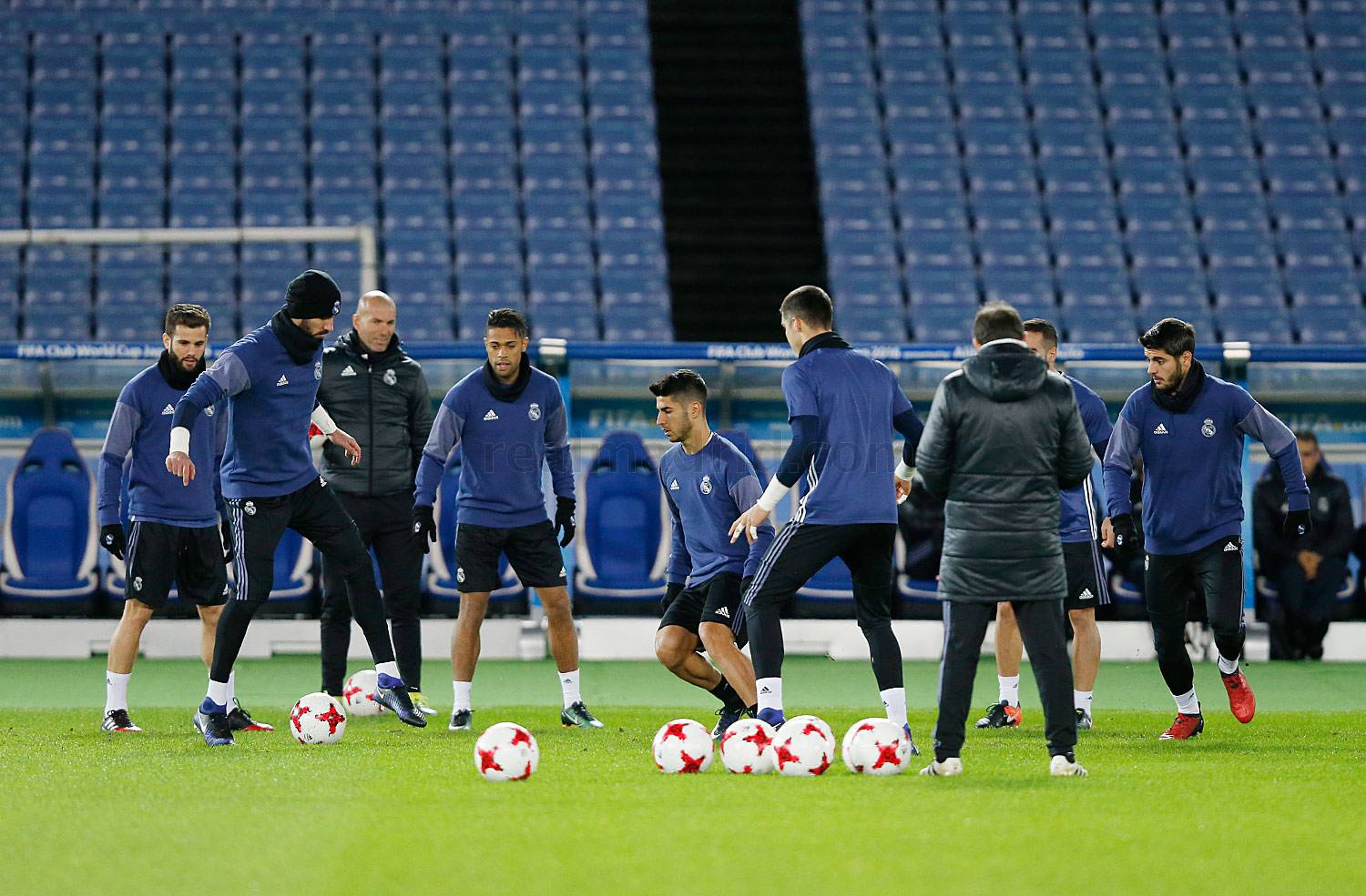 Real Madrid - Entrenamiento del Real Madrid en Yokohama - 14-12-2016