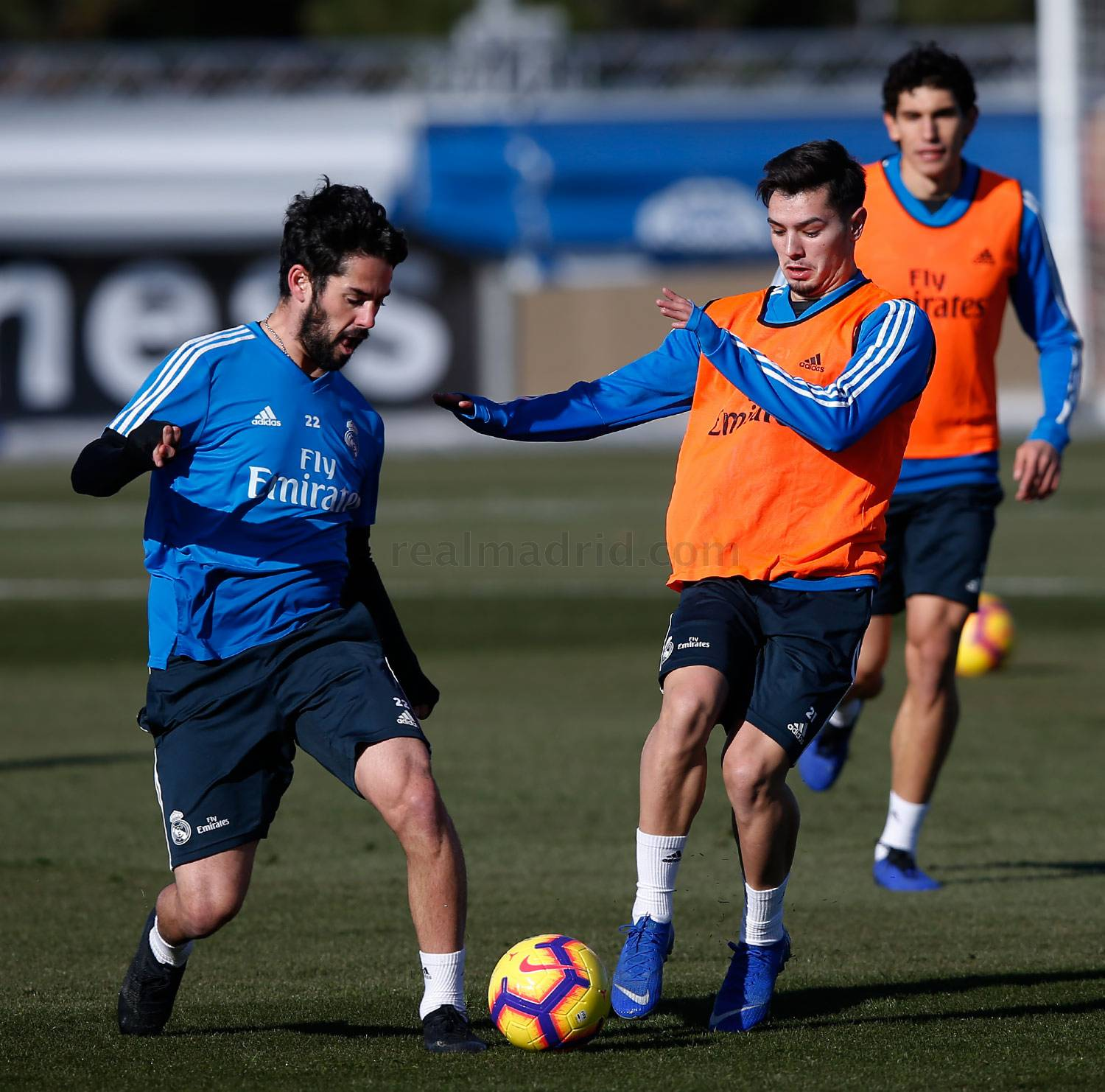Real Madrid - Entrenamiento del Real Madrid - 10-01-2019