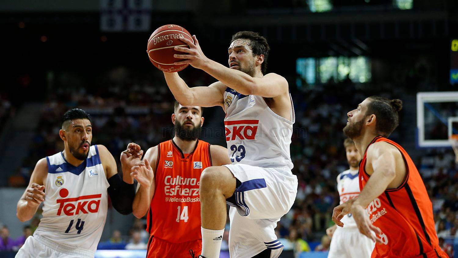 Real Madrid - Real Madrid - Valencia Basket - 11-06-2017