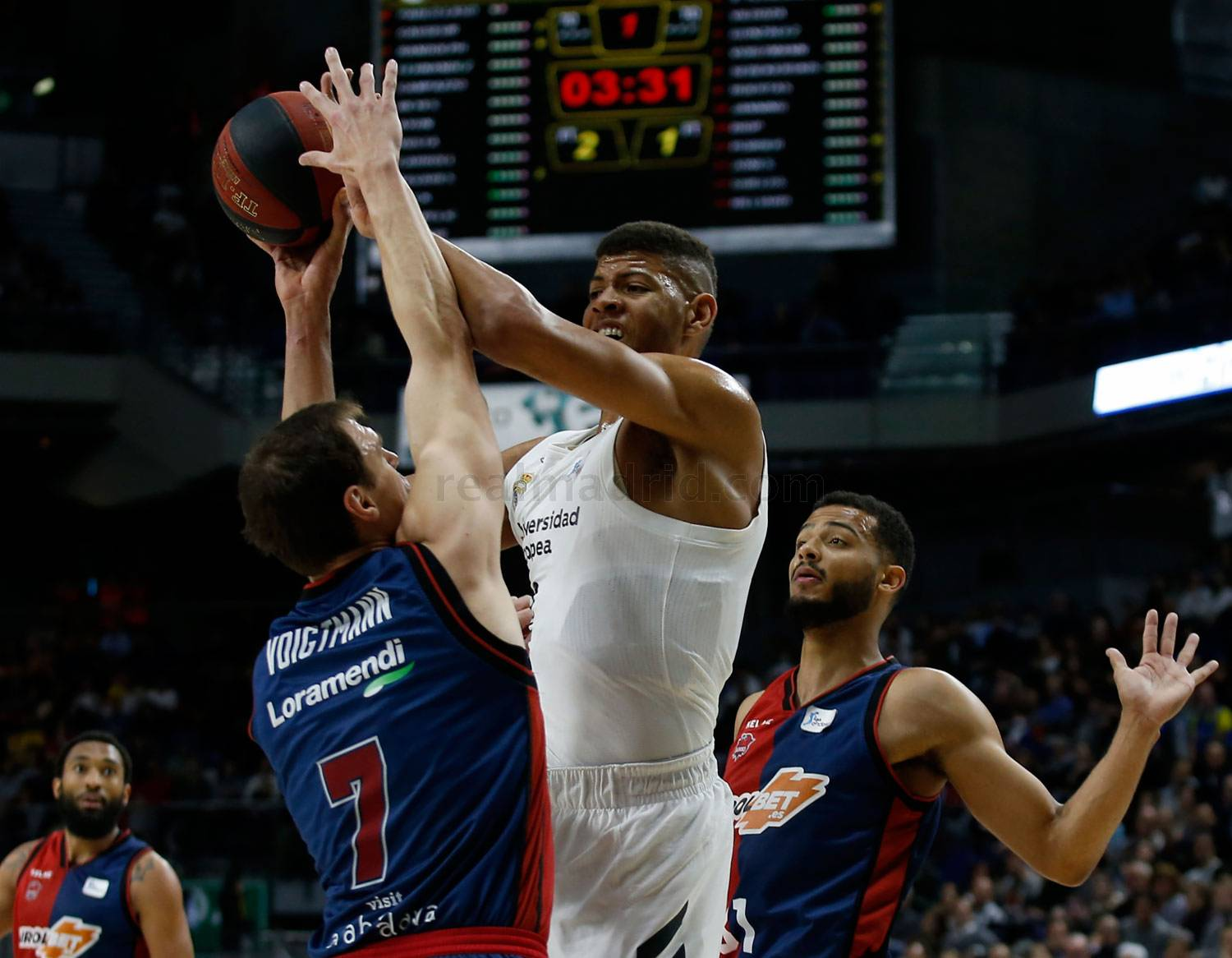 Real Madrid - Real Madrid - Kirolbet Baskonia - 10-02-2019