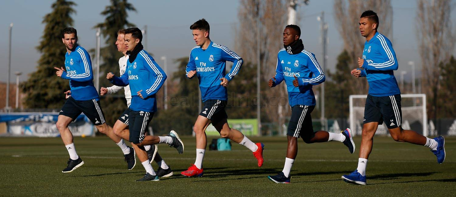 Real Madrid - Entrenamiento del Real Madrid - 14-01-2019