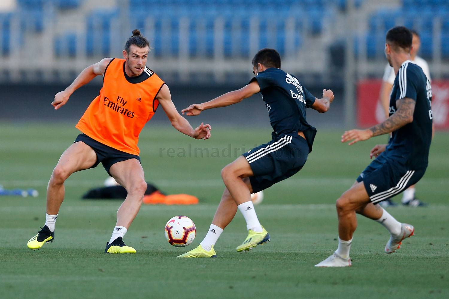 Real Madrid - Entrenamiento del Real Madrid - 29-08-2018