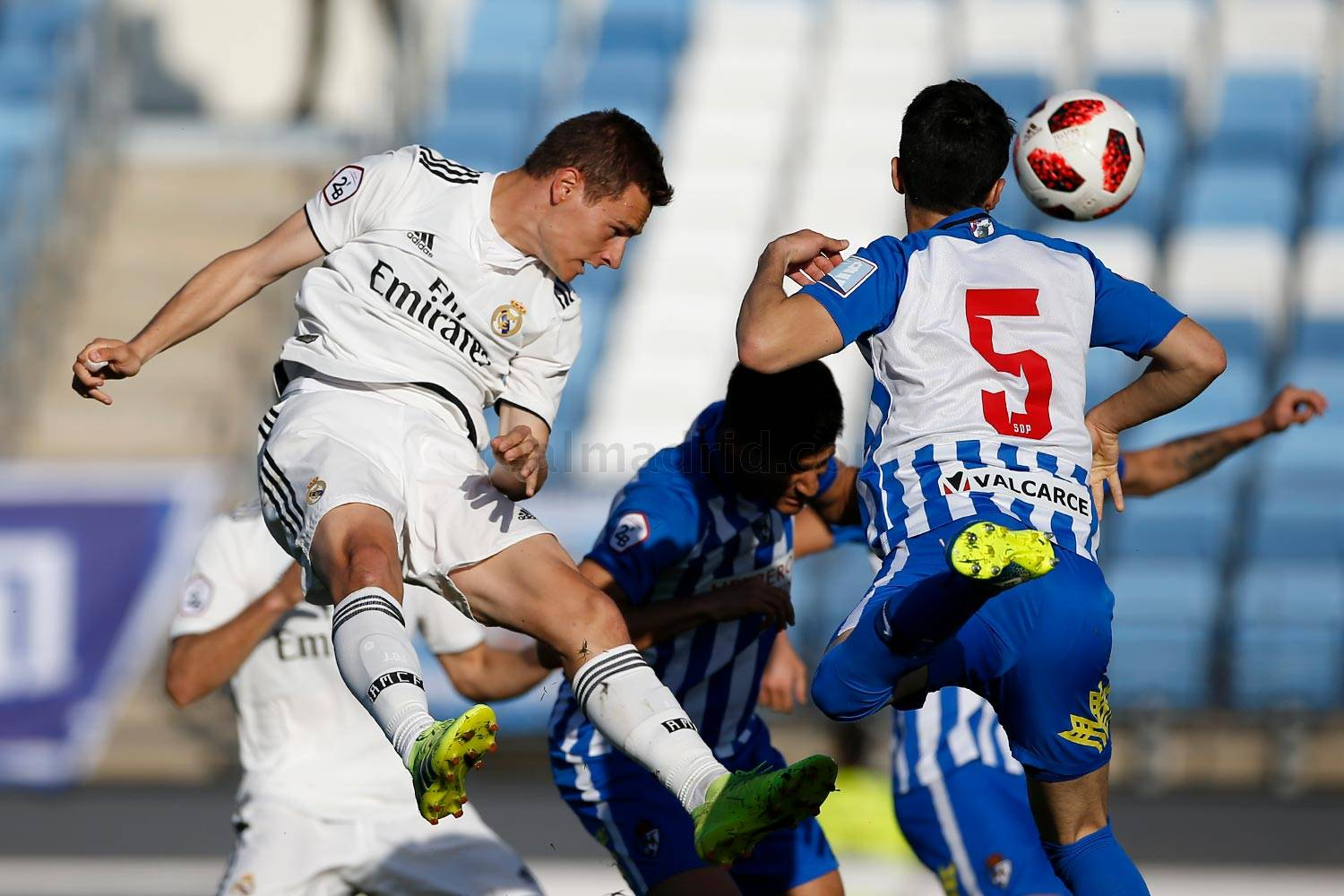 Real Madrid - Real Madrid Castilla - Ponferradina - 24-03-2019