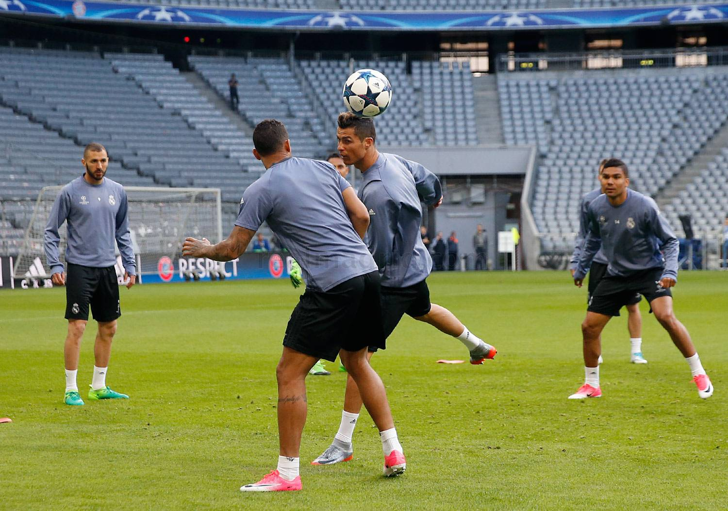 Real Madrid - Entrenamiento del Real Madrid - 11-04-2017