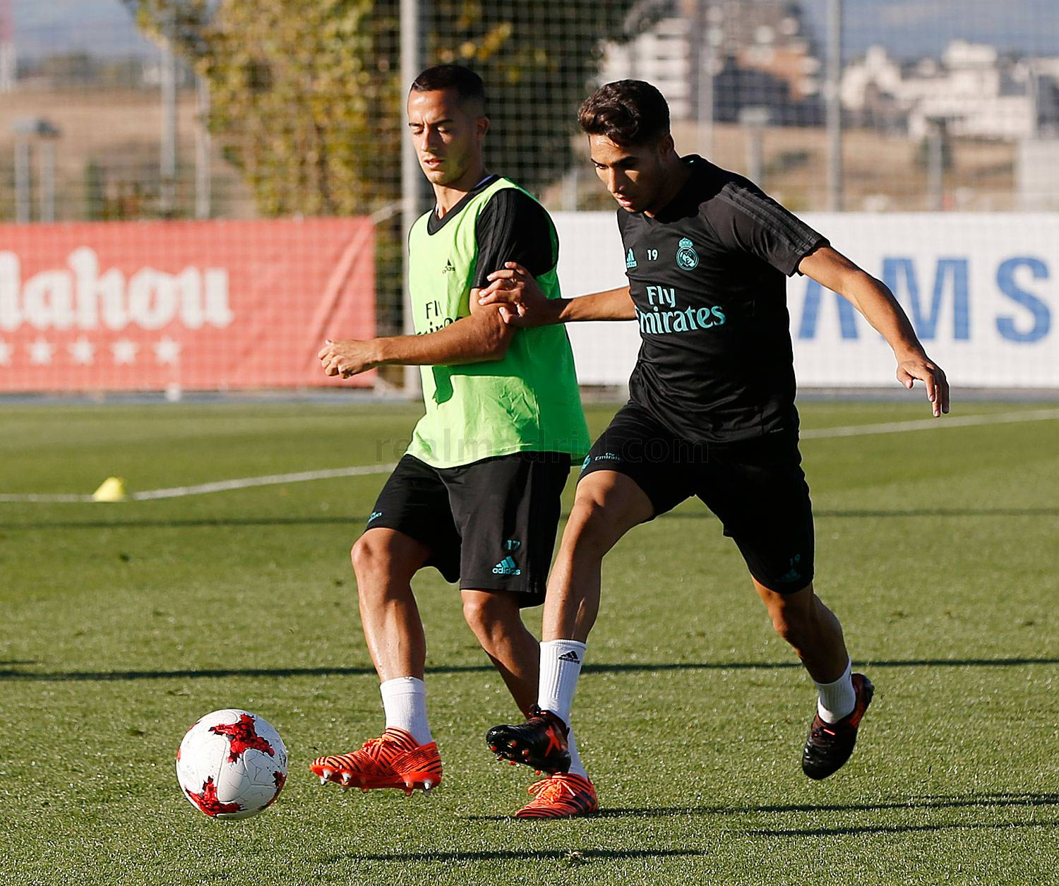 Real Madrid - Entrenamiento del Real Madrid - 24-10-2017