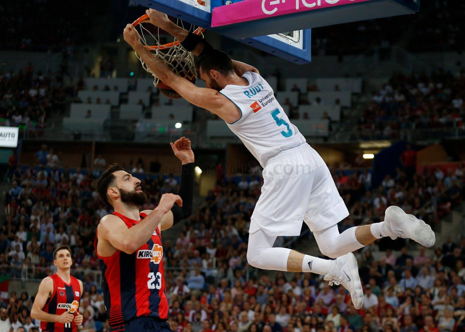 Real Madrid - Kirolbet Baskonia - Real Madrid  - 17-06-2018