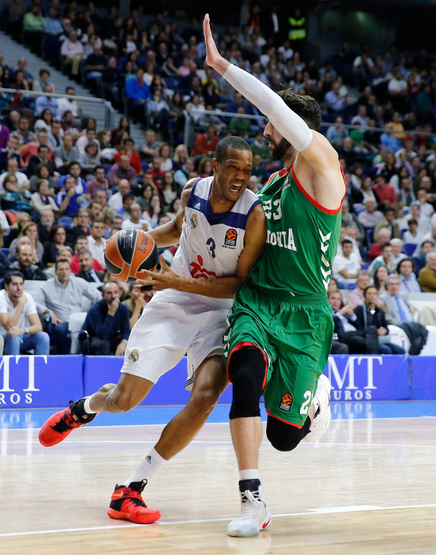 Real Madrid - Real Madrid - Baskonia - 25-10-2016