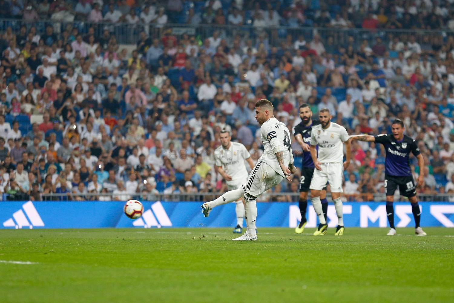 Real Madrid - Real Madrid - Leganés - 01-09-2018