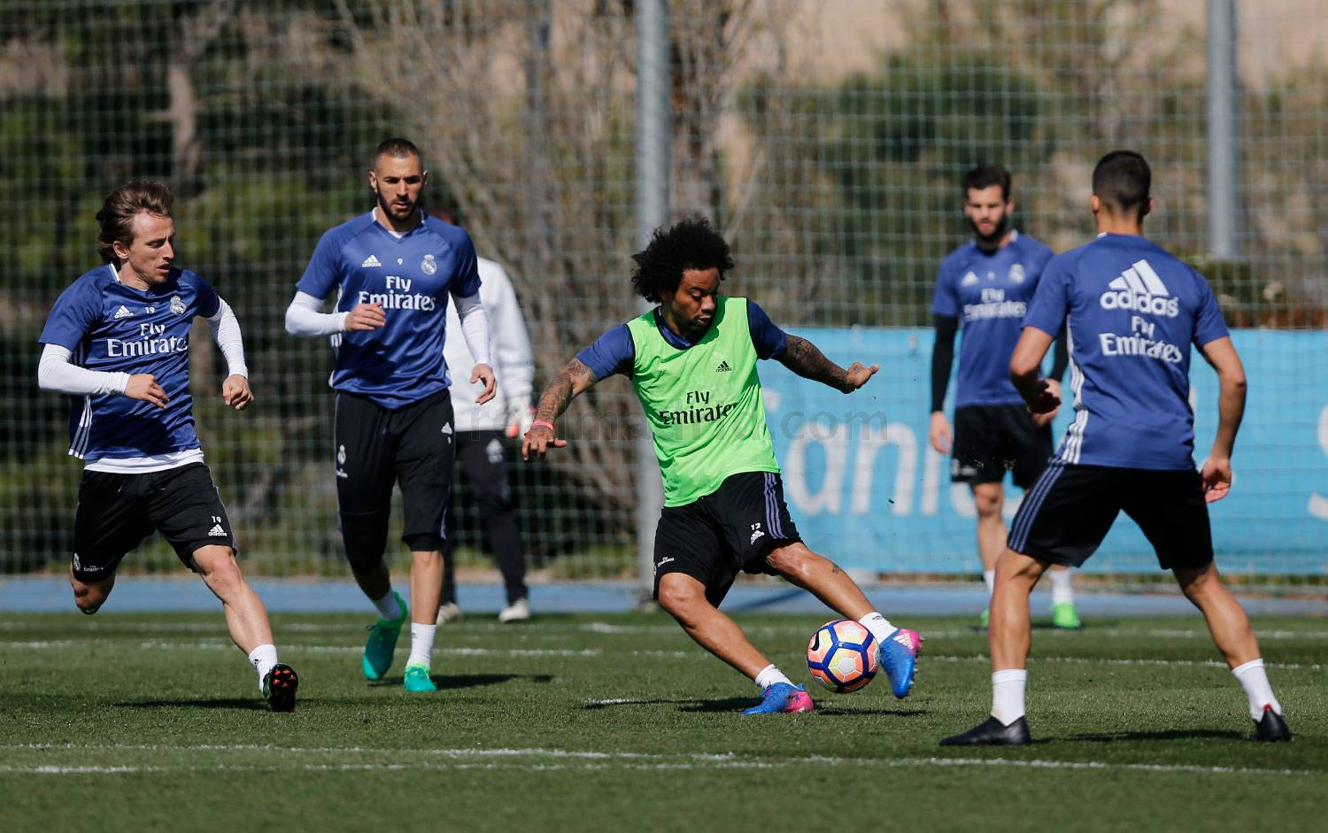 Real Madrid - Entrenamiento del Real Madrid - 17-03-2017