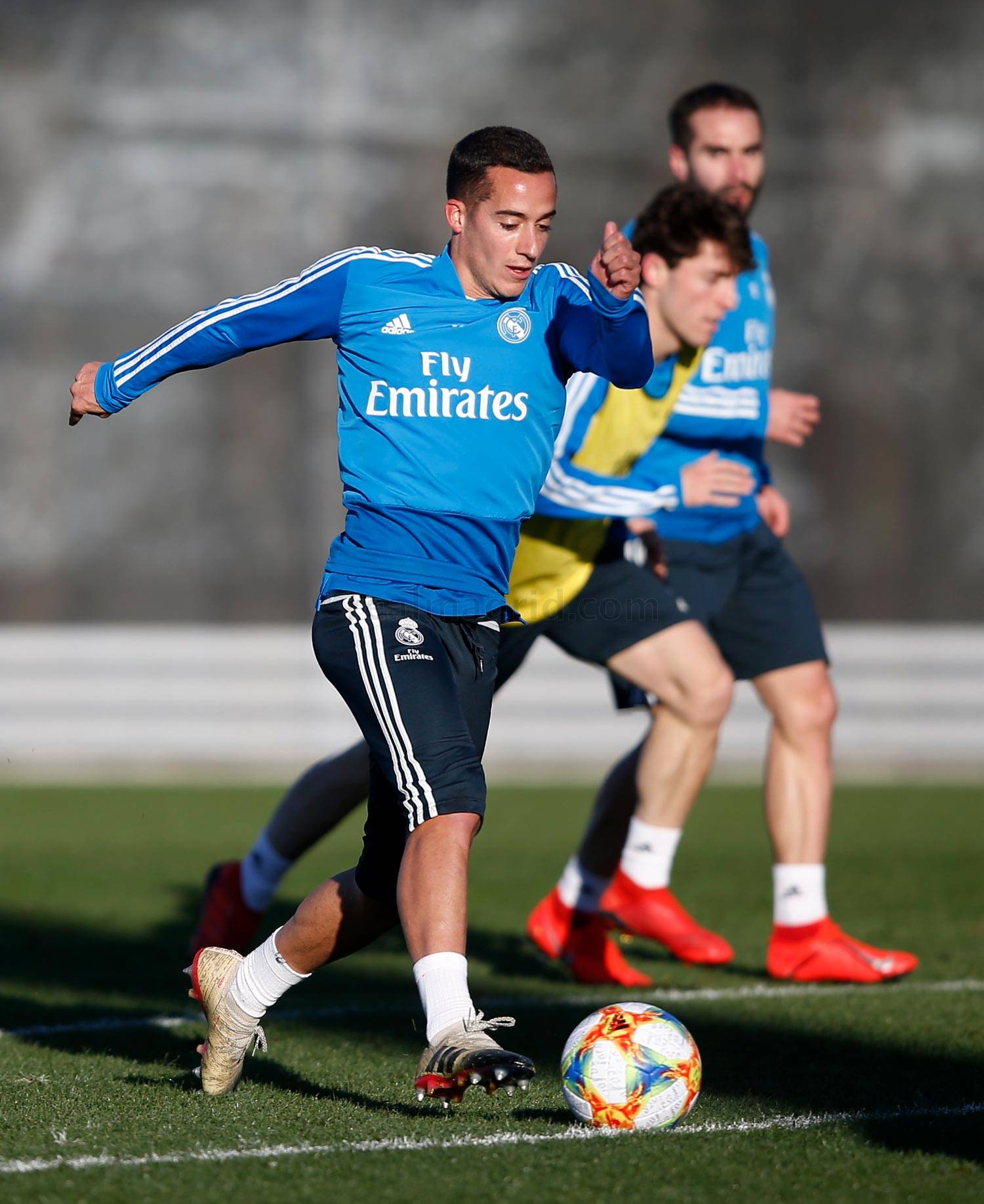 Real Madrid - Entrenamiento del Real Madrid - 21-01-2019