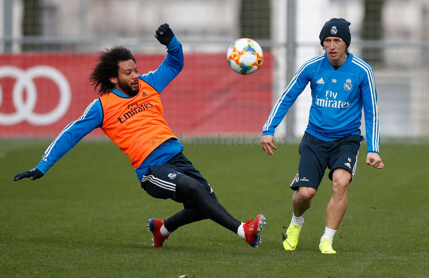 Real Madrid - Entrenamiento del Real Madrid - 22-01-2019