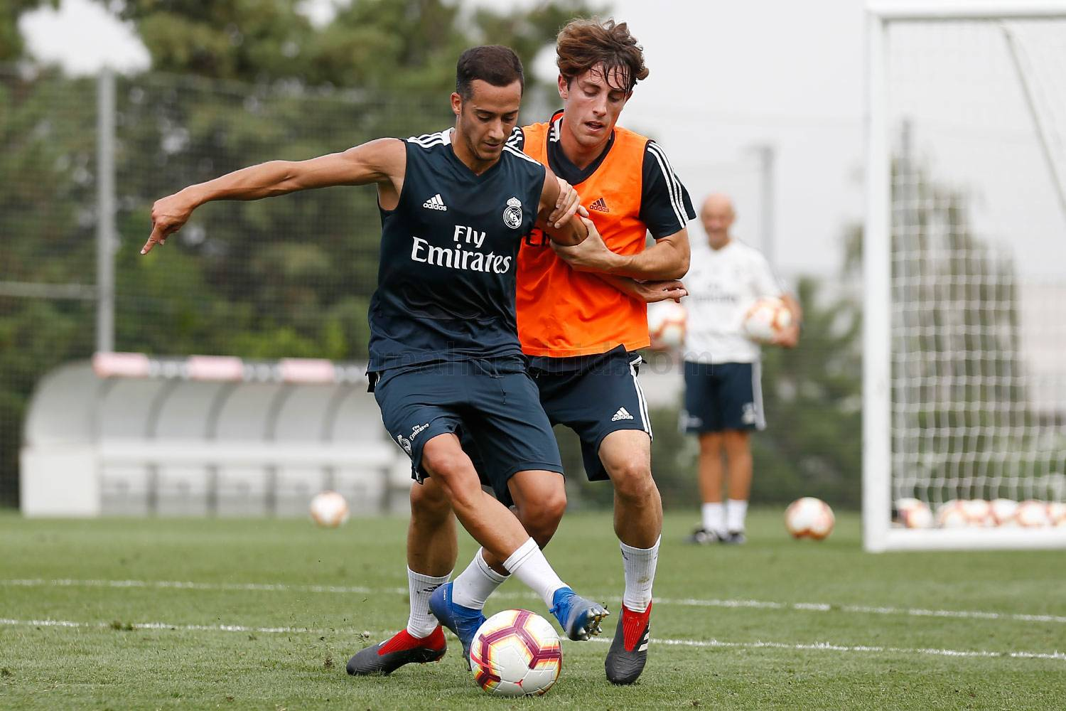 Real Madrid - Entrenamiento del Real Madrid - 03-09-2018