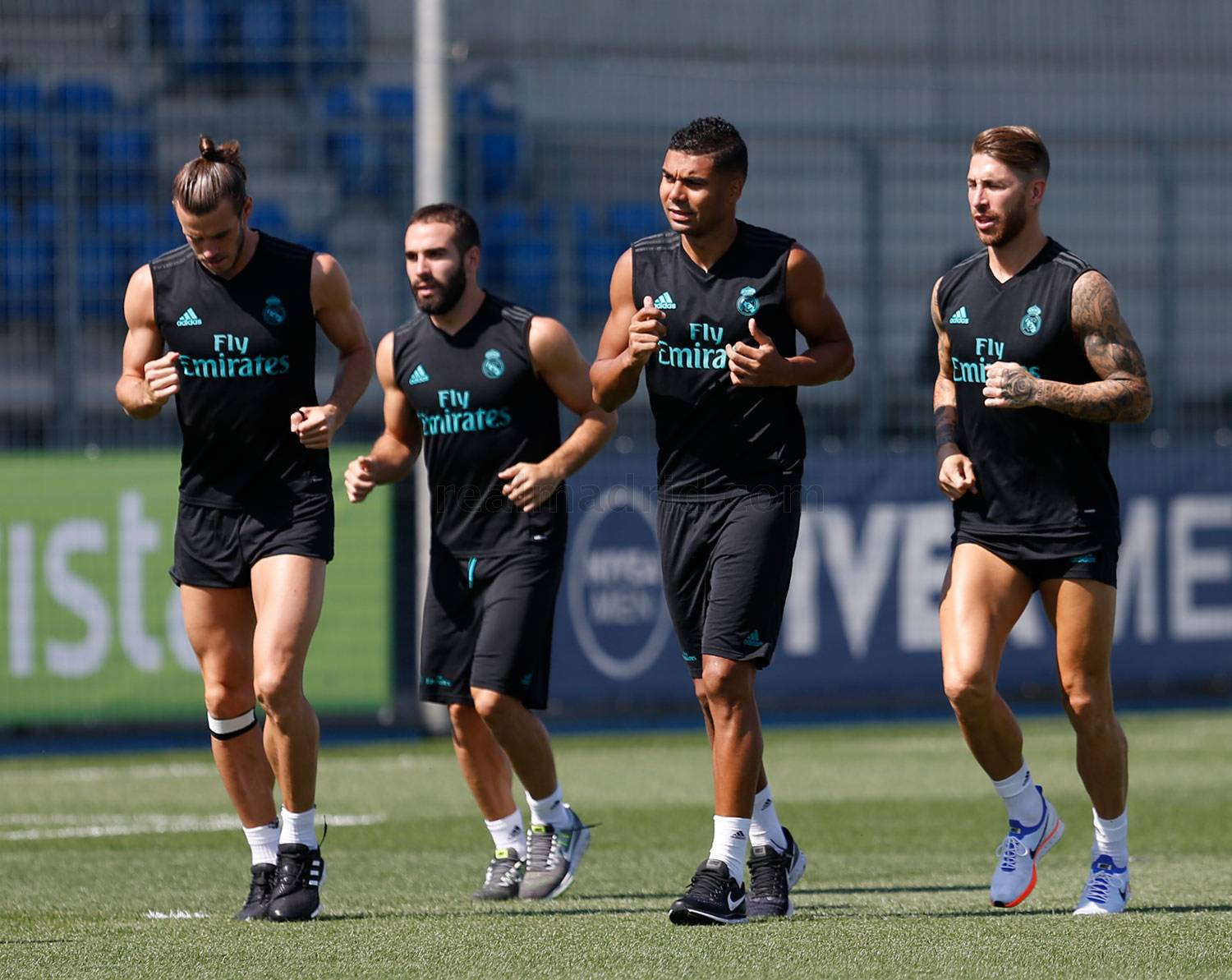 Real Madrid - Entrenamiento del Real Madrid - 14-08-2017