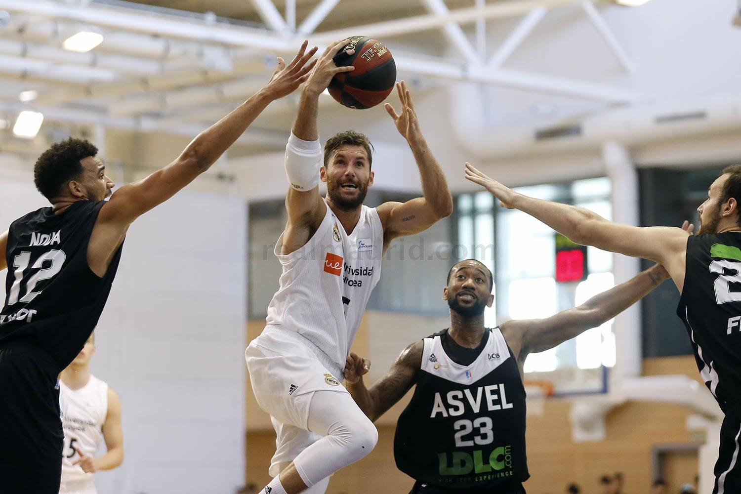 Real Madrid - Real Madrid - Asvel - 04-09-2018