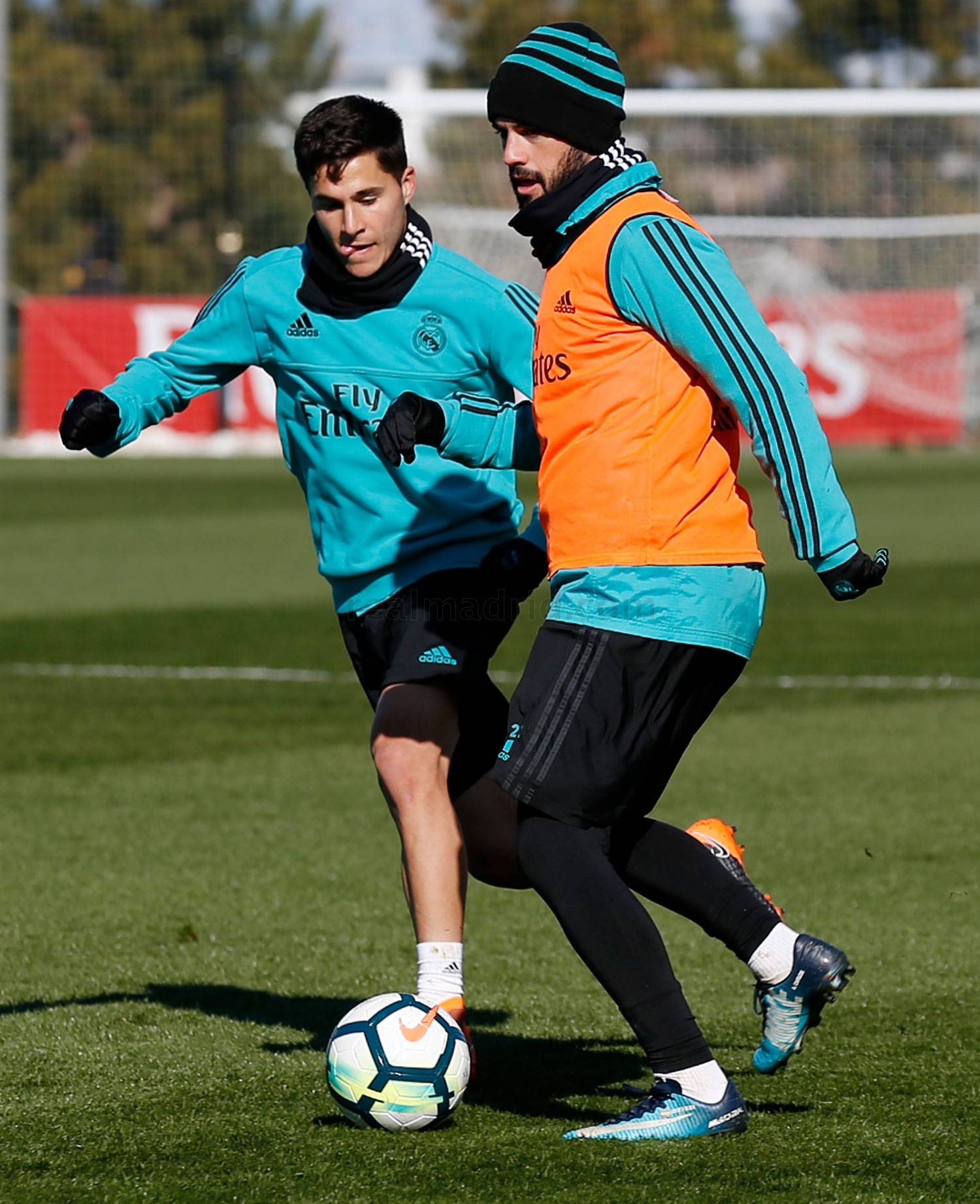 Real Madrid - Entrenamiento del Real Madrid - 06-02-2018