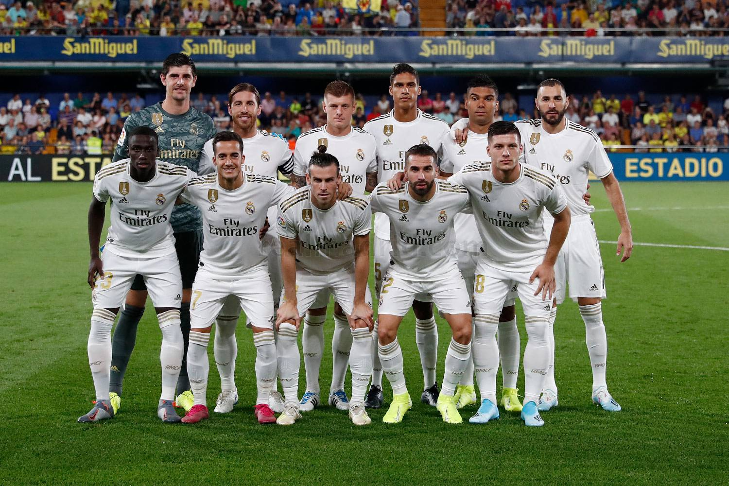 Real Madrid - Villarreal - Real Madrid - 01-09-2019