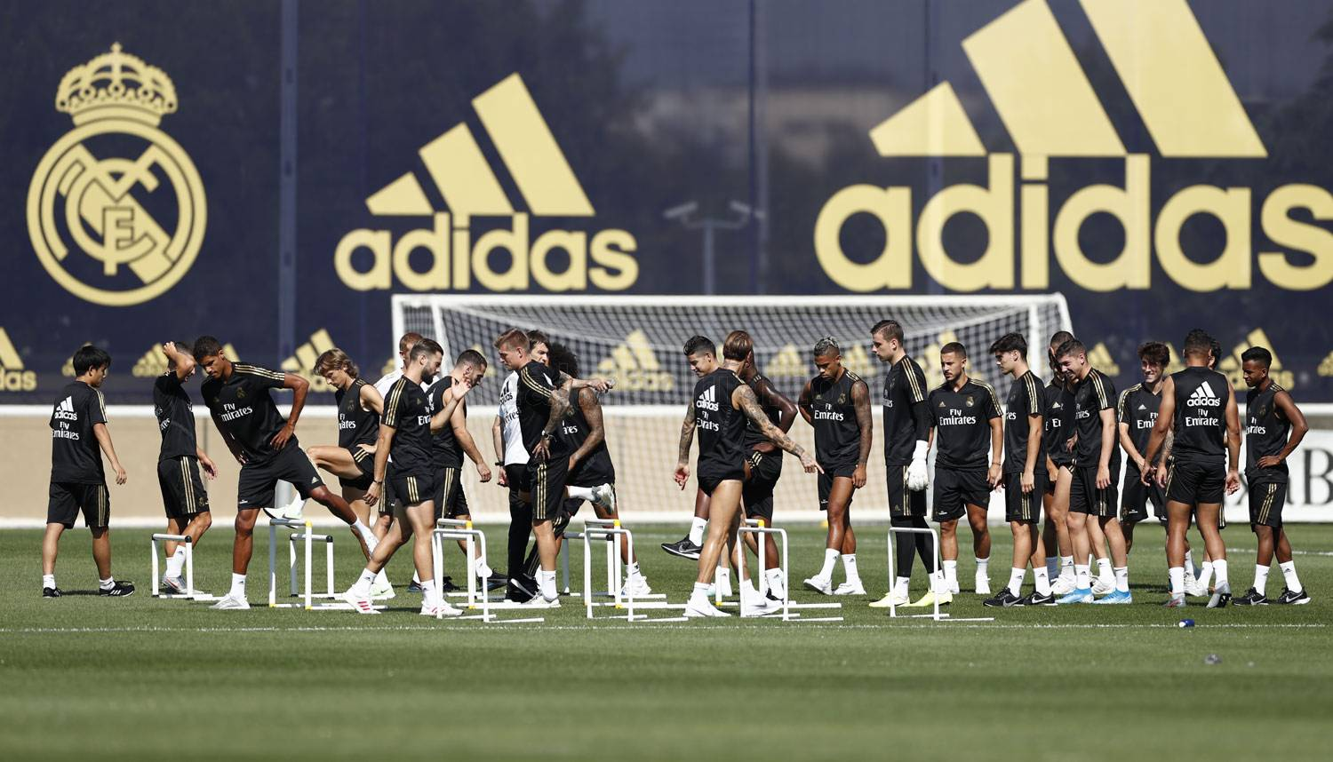 Real Madrid - Entrenamiento del Real Madrid  - 01-08-2019