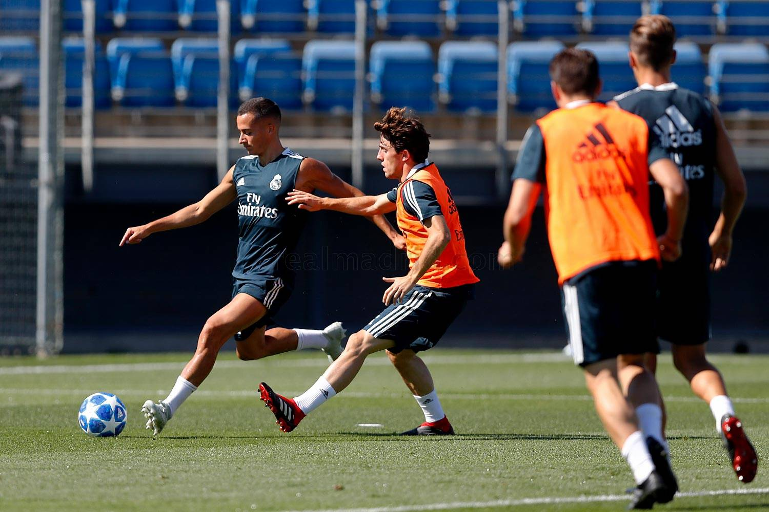 Real Madrid - Entrenamiento del Real Madrid - 17-09-2018