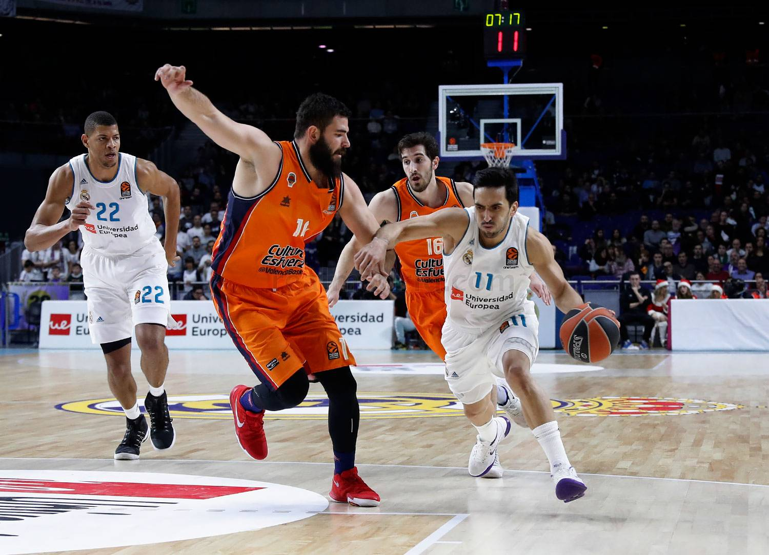 Real Madrid - Real Madrid - Valencia Basket - 19-12-2017