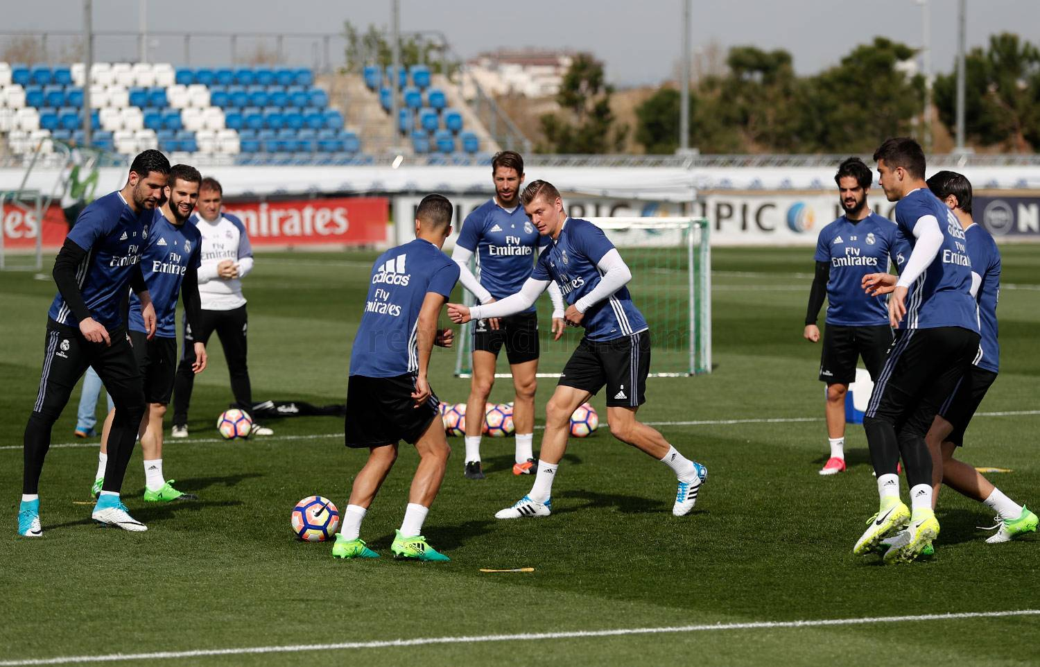 Real Madrid - Entrenamiento del Real Madrid - 30-03-2017