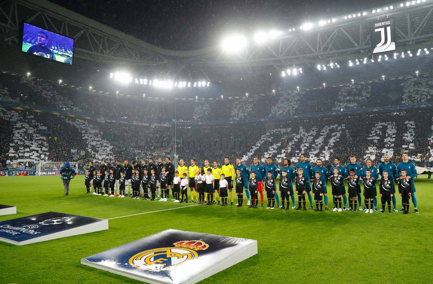Real Madrid - Juventus - Real Madrid - 03-04-2018