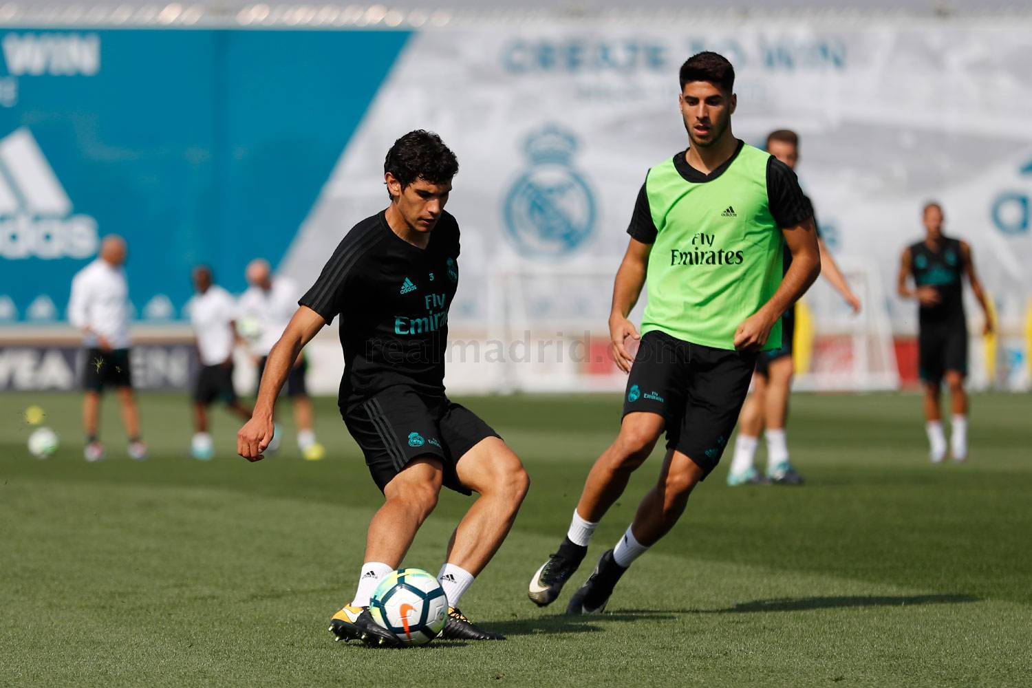 Real Madrid - Entrenamiento del Real Madrid - 08-09-2017