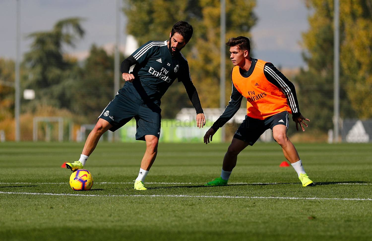 Real Madrid - Entrenamiento del Real Madrid - 01-11-2018