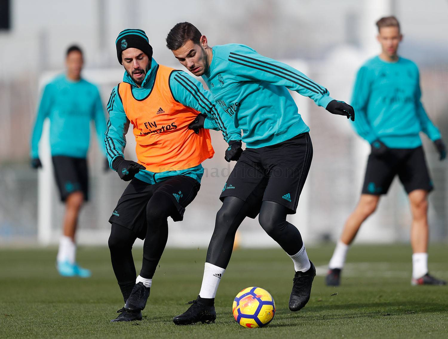 Real Madrid - Entrenamiento del Real Madrid - 20-01-2018
