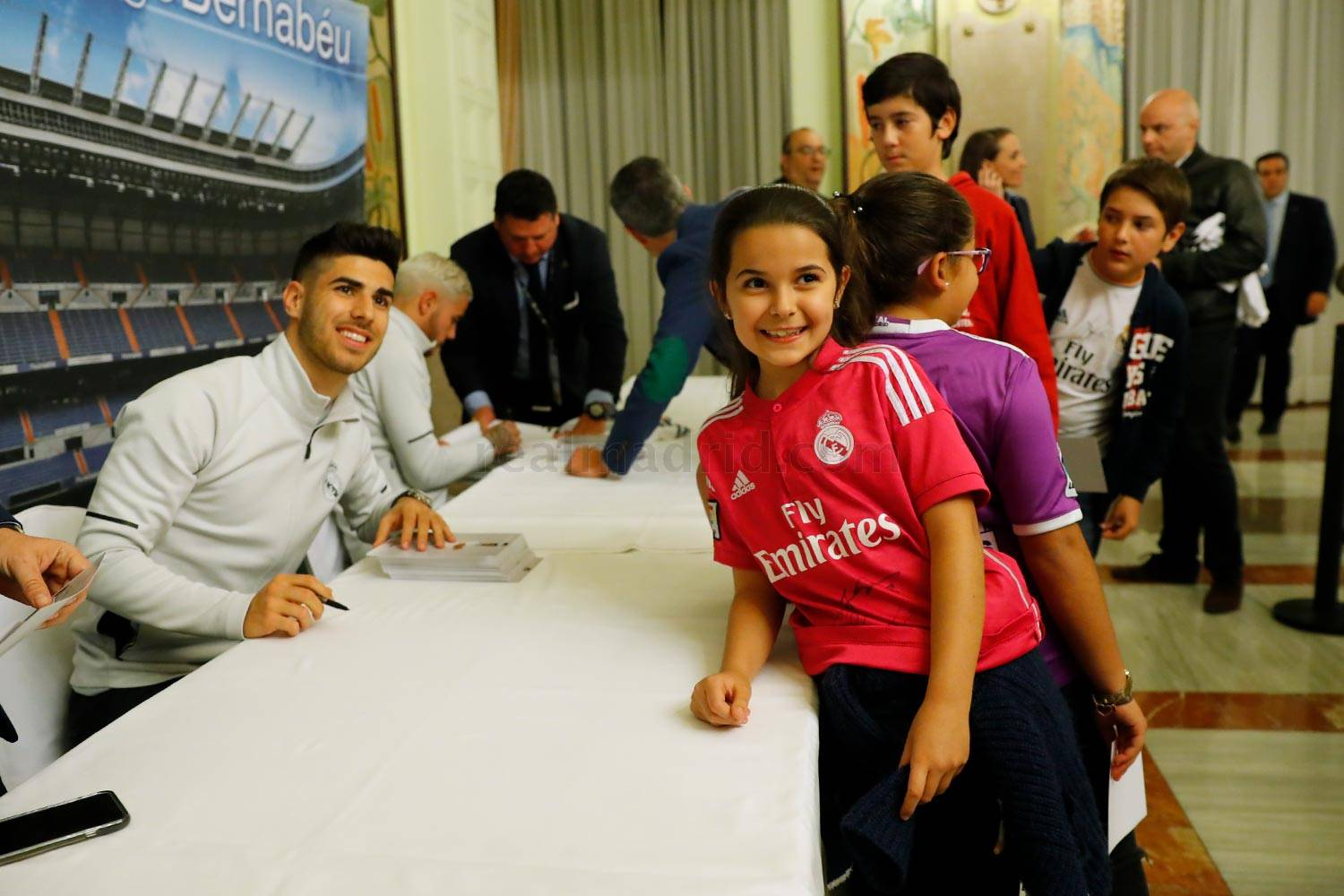 Real Madrid - Firmas del Real Madrid en Las Palmas - 30-03-2018