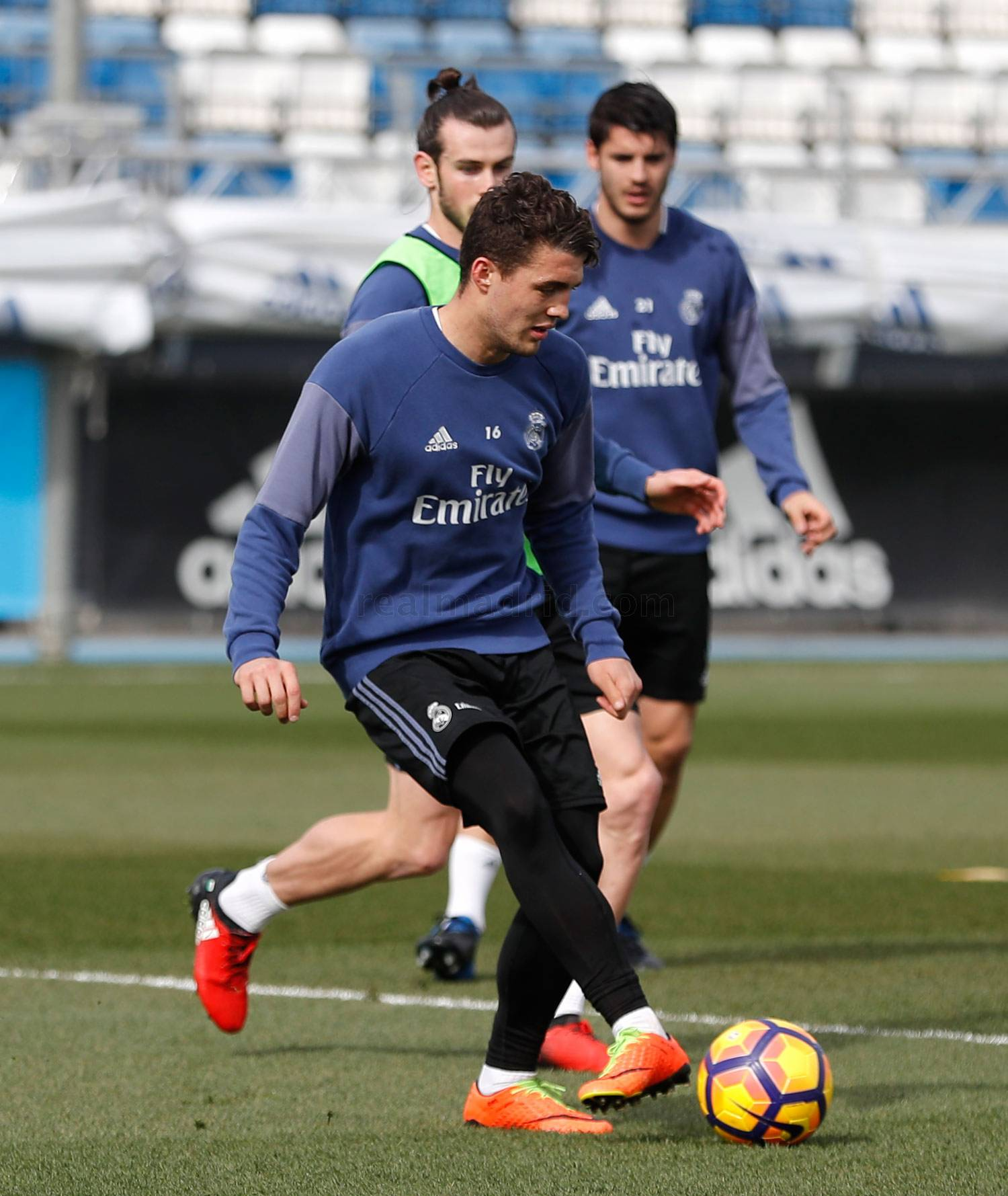 Real Madrid - Entrenamiento del Real Madrid - 24-02-2017