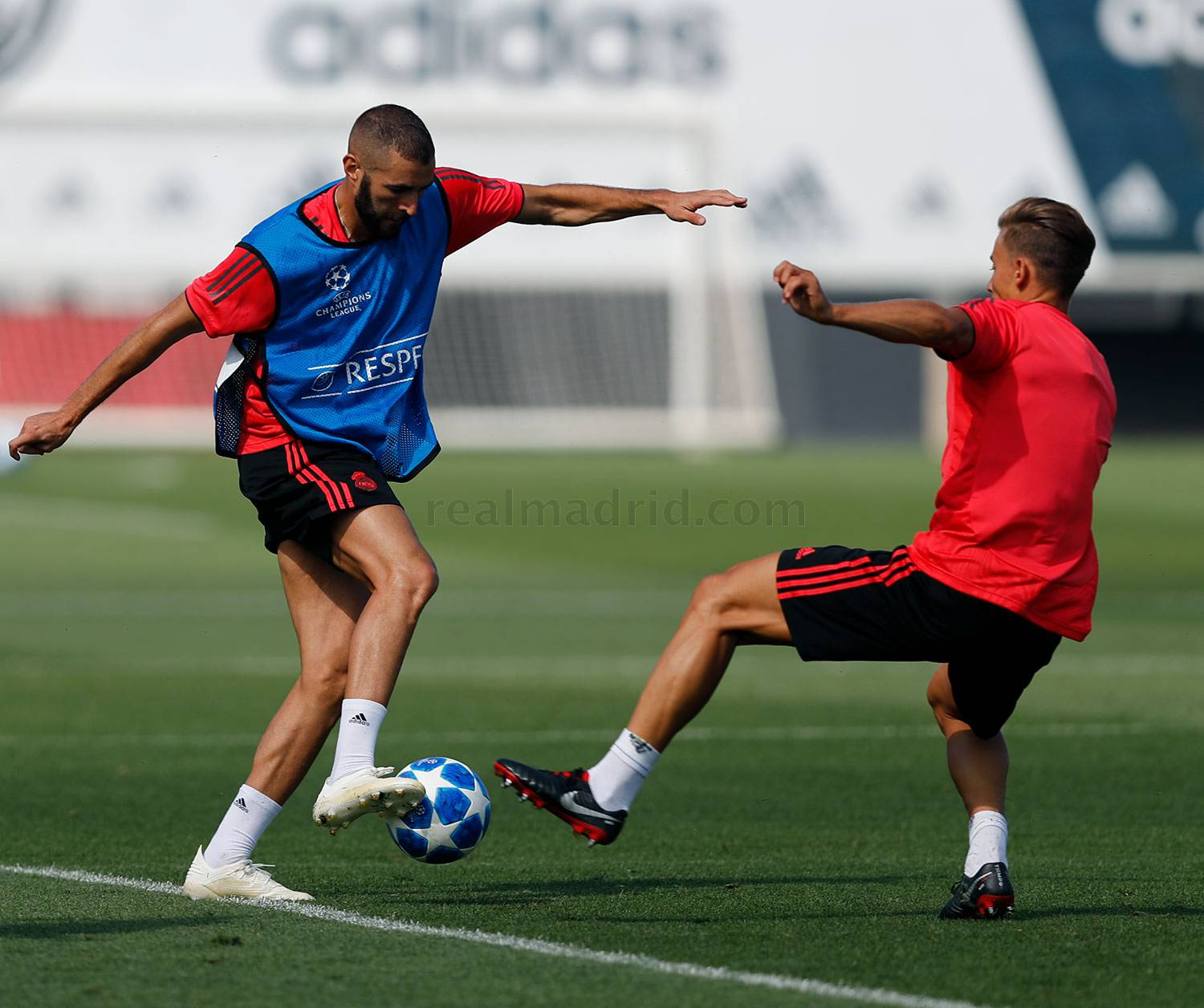 Real Madrid - Entrenamiento del Real Madrid - 18-09-2018