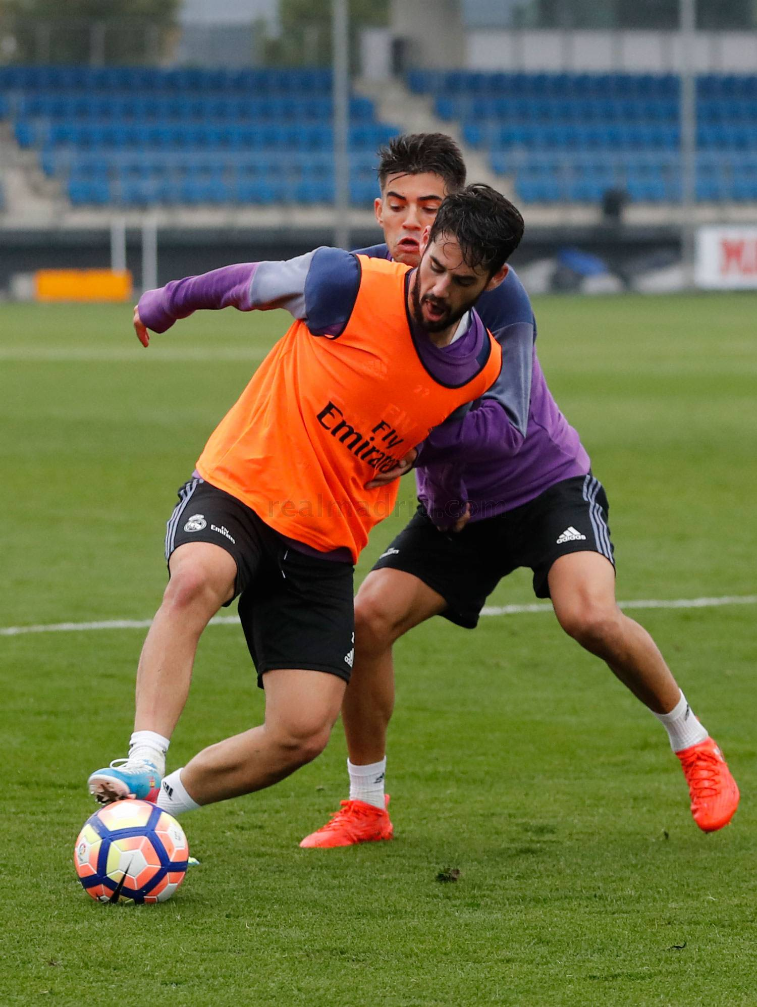 Real Madrid - Entrenamiento del Real Madrid - 12-10-2016