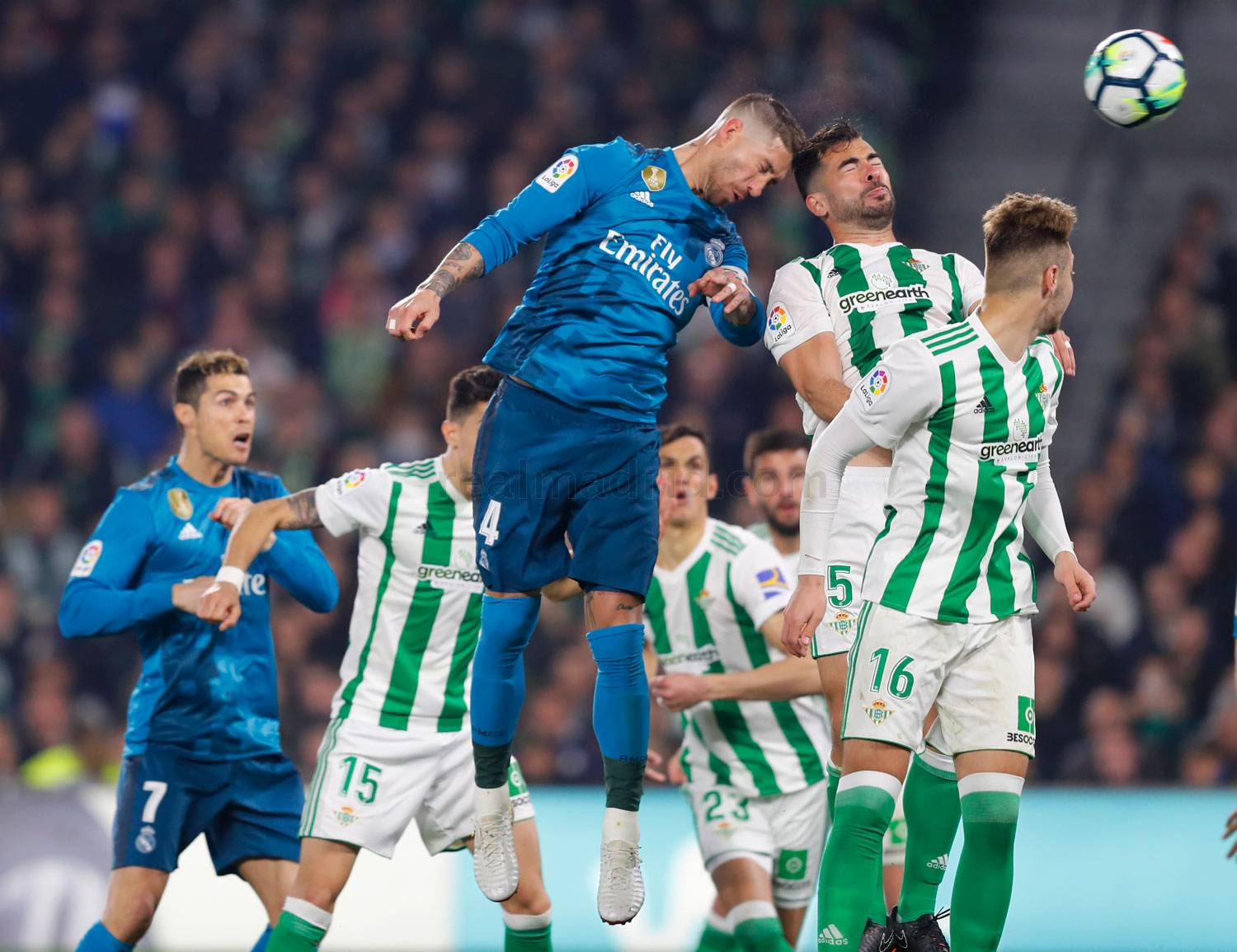 Real Madrid - Real Betis - Real Madrid - 18-02-2018