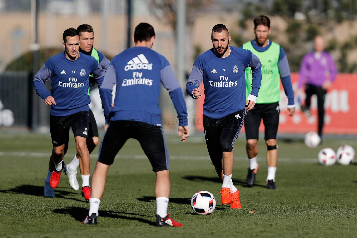 Real Madrid - Entrenamiento del Real Madrid - 11-01-2017
