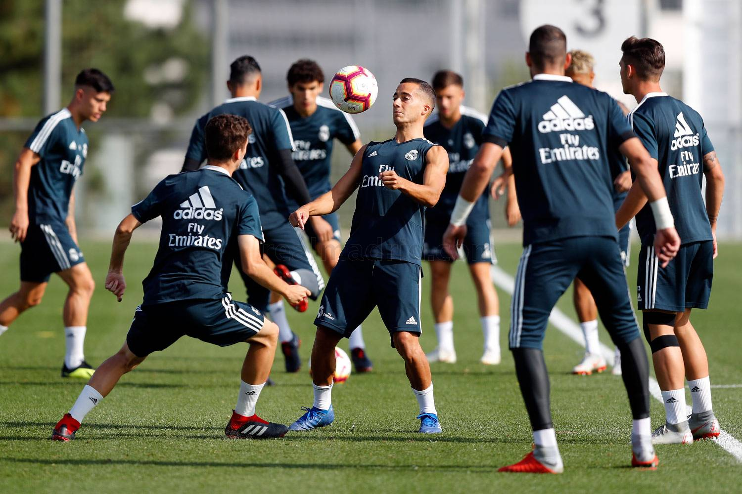 Real Madrid - Entrenamiento del Real Madrid - 04-09-2018
