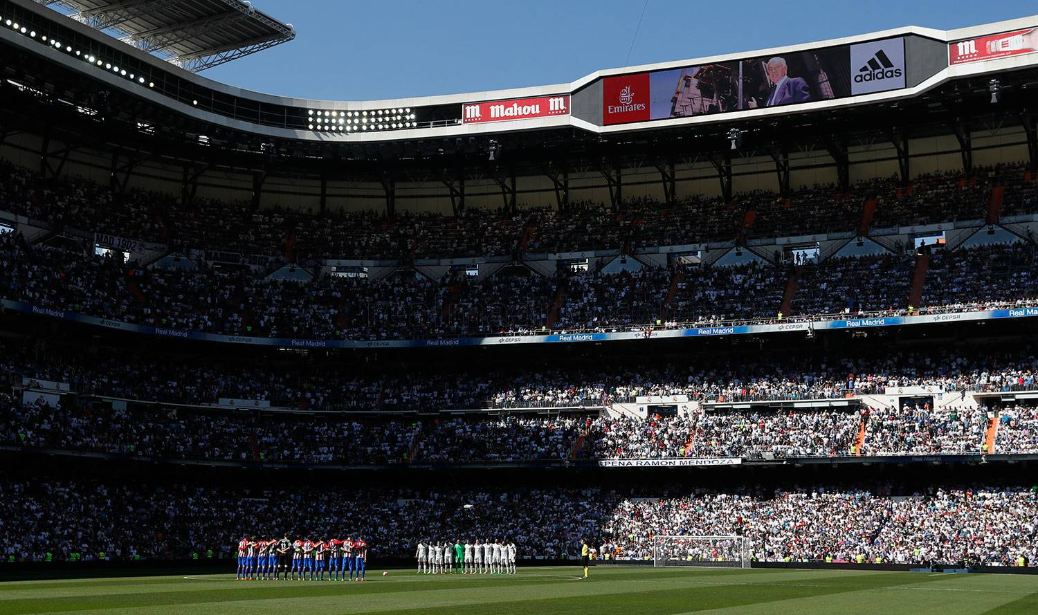 Real Madrid - Real Madrid - Atlético de Madrid - 08-04-2017