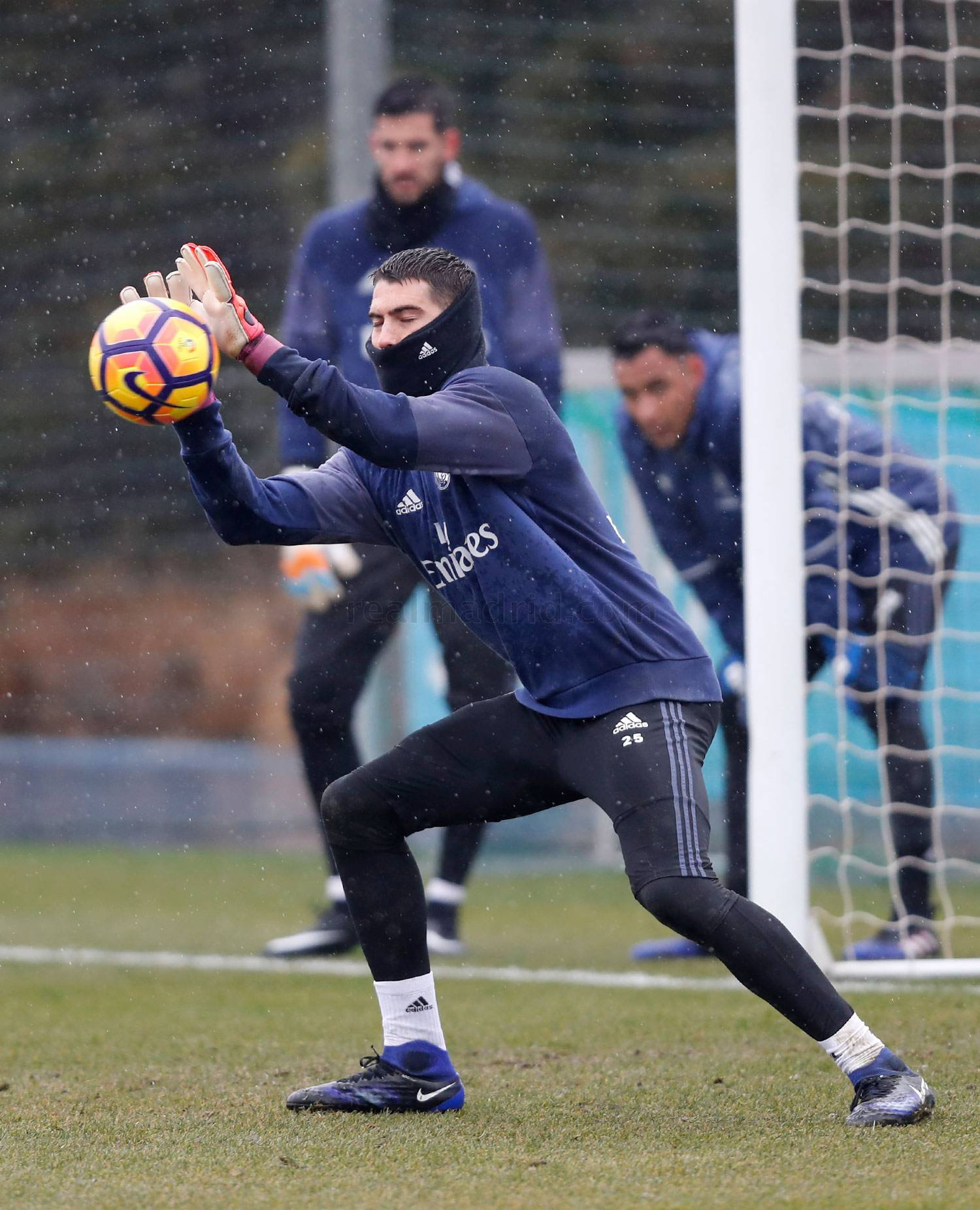Real Madrid - Entrenamiento del Real Madrid - 27-01-2017