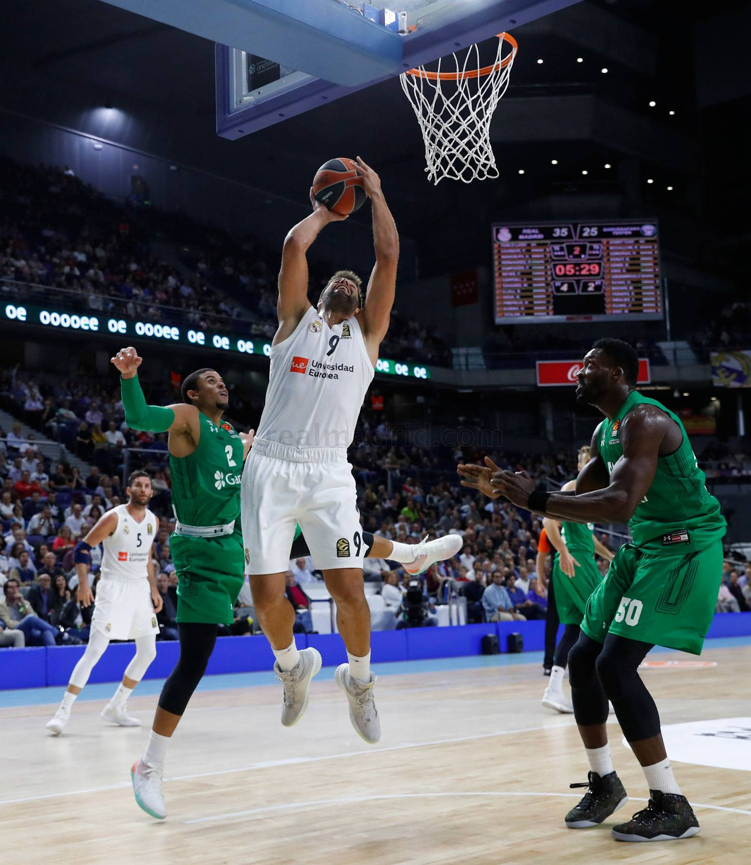Real Madrid - Real Madrid - Darussafaka - 11-10-2018