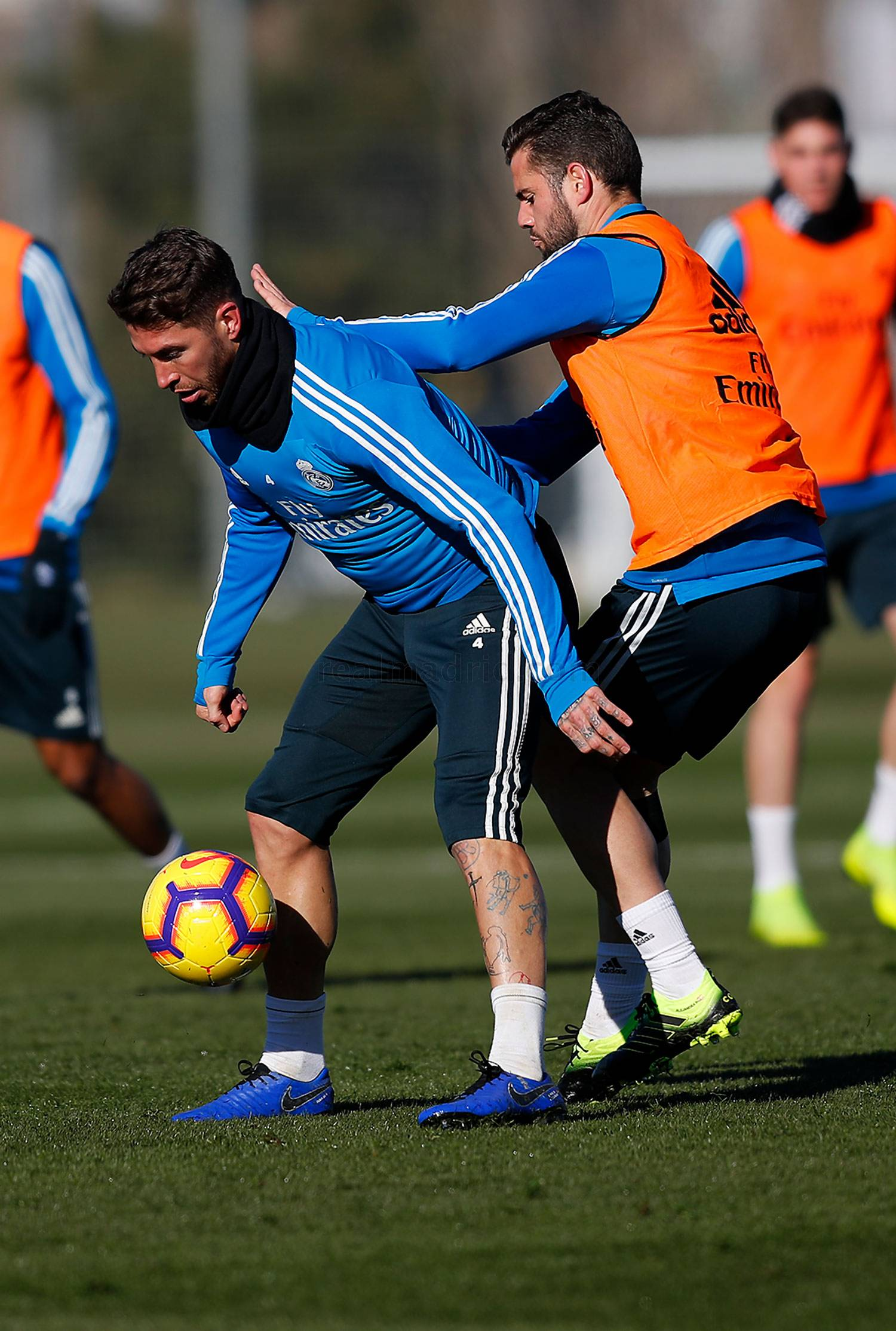 Real Madrid - Entrenamiento del Real Madrid - 12-01-2019