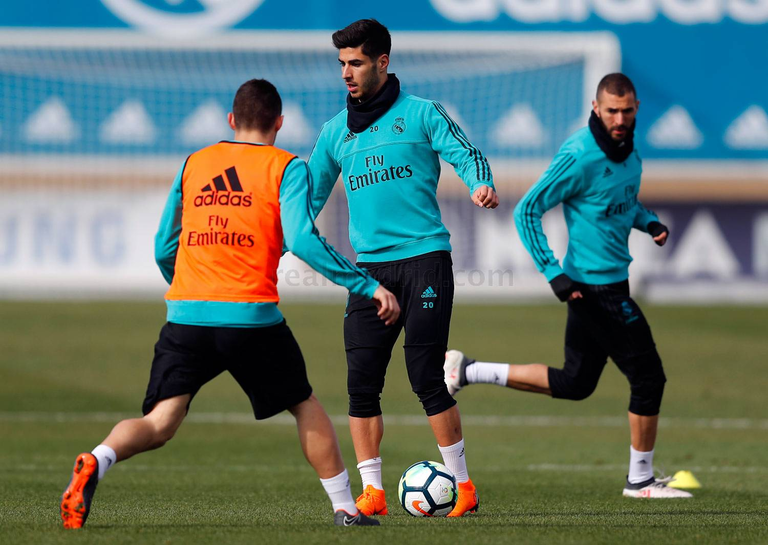 Real Madrid - Entrenamiento del Real Madrid - 20-02-2018