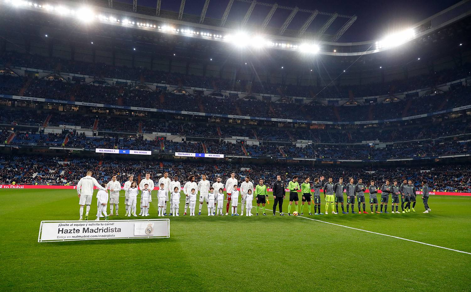 Real Madrid - Real Madrid - Real Sociedad - 06-01-2019