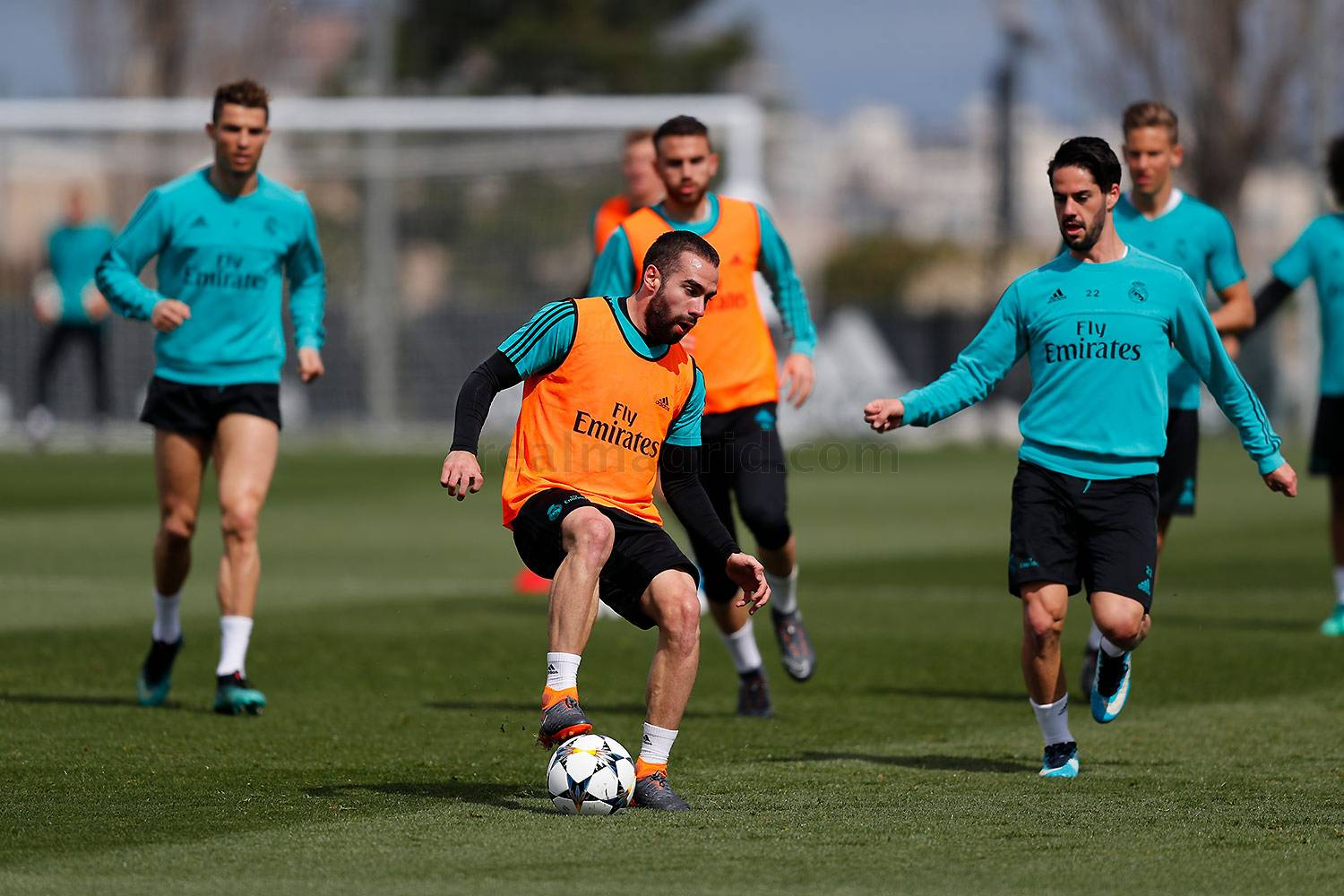 Real Madrid - Entrenamiento del Real Madrid - 01-04-2018