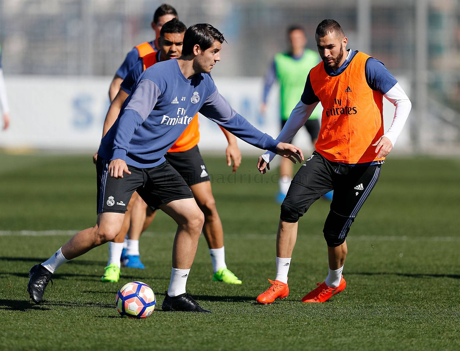 Real Madrid - Entrenamiento del Real Madrid - 10-03-2017