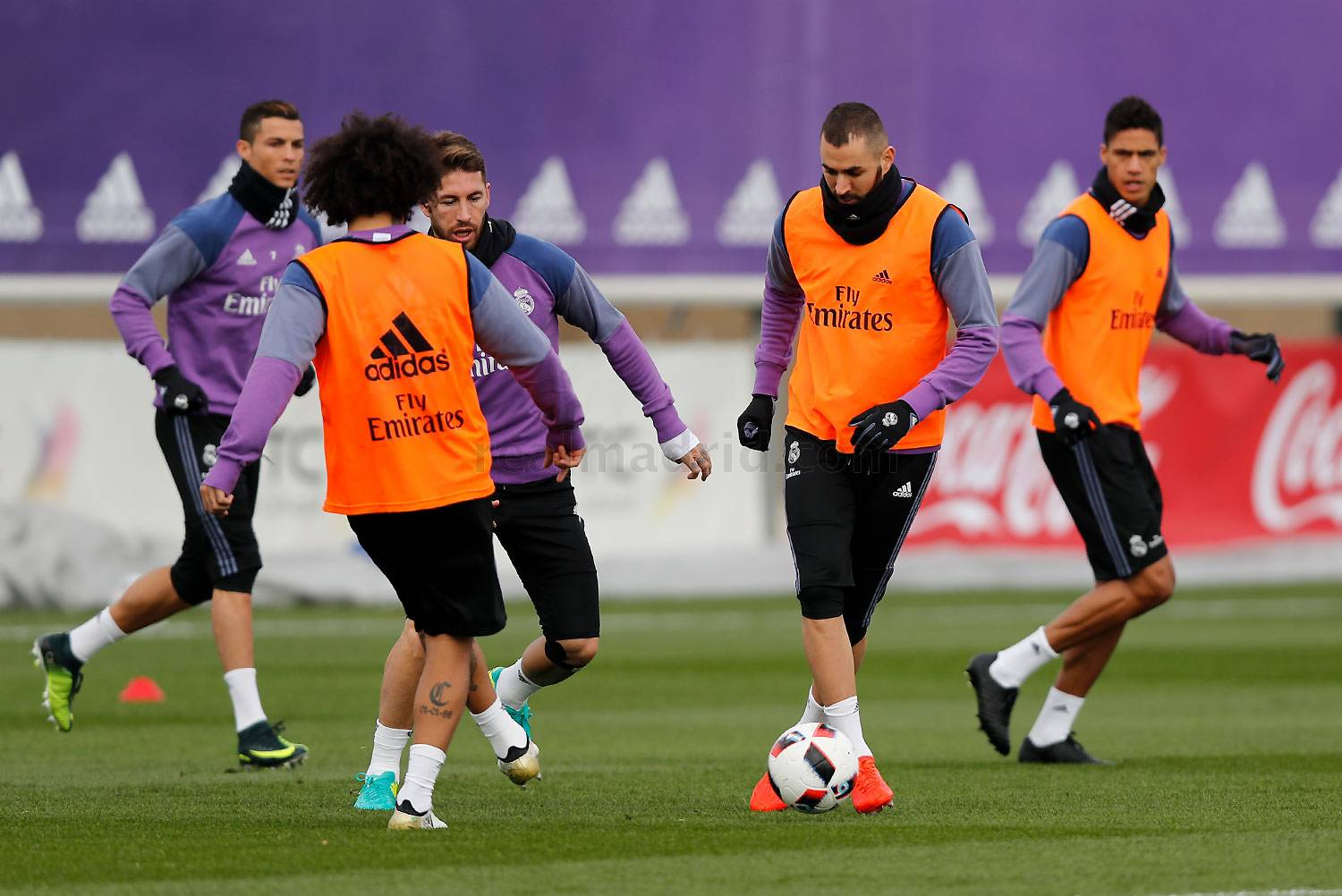 Real Madrid - Entrenamiento del Real Madrid - 29-11-2016