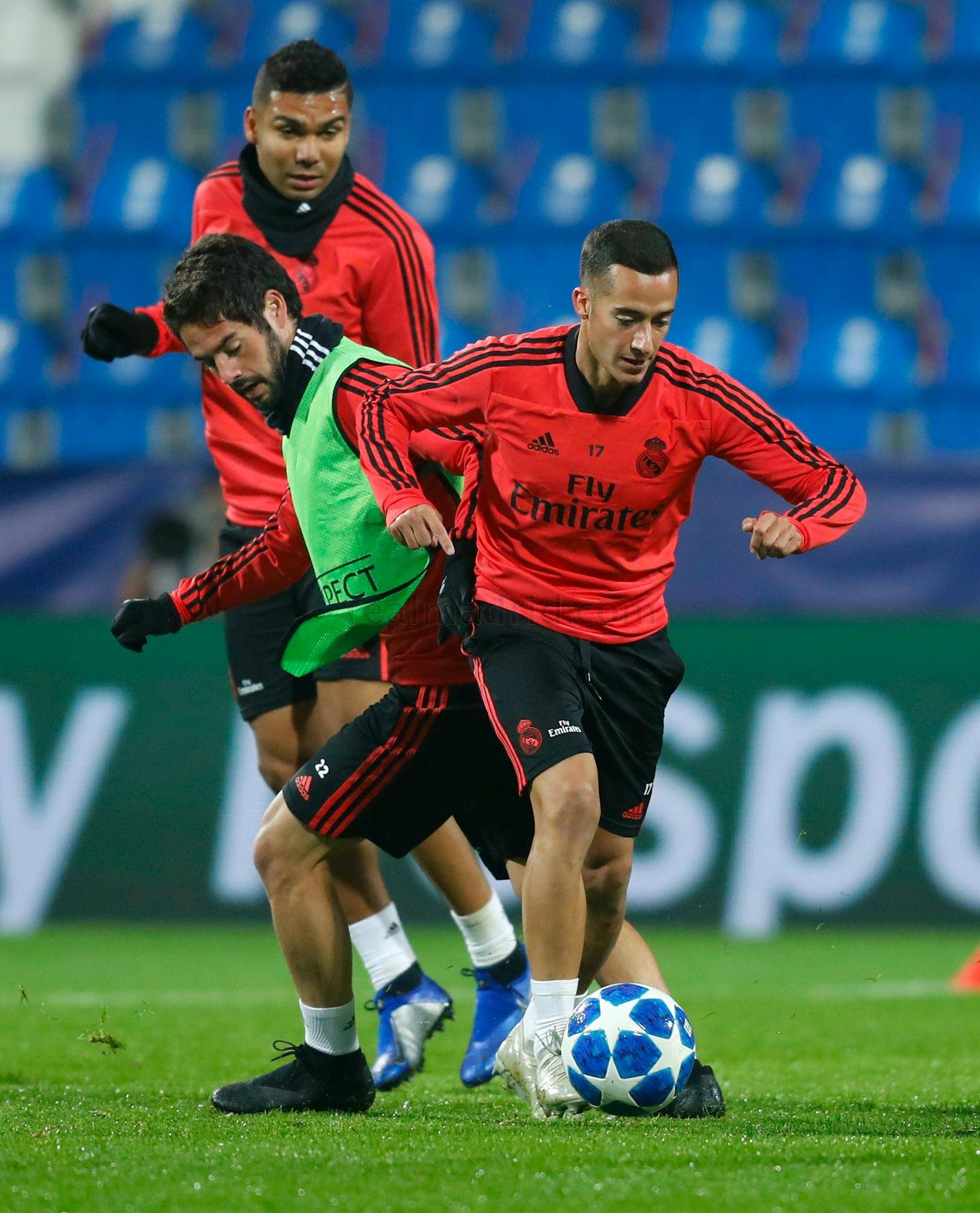Real Madrid - Entrenamiento del Real Madrid - 06-11-2018