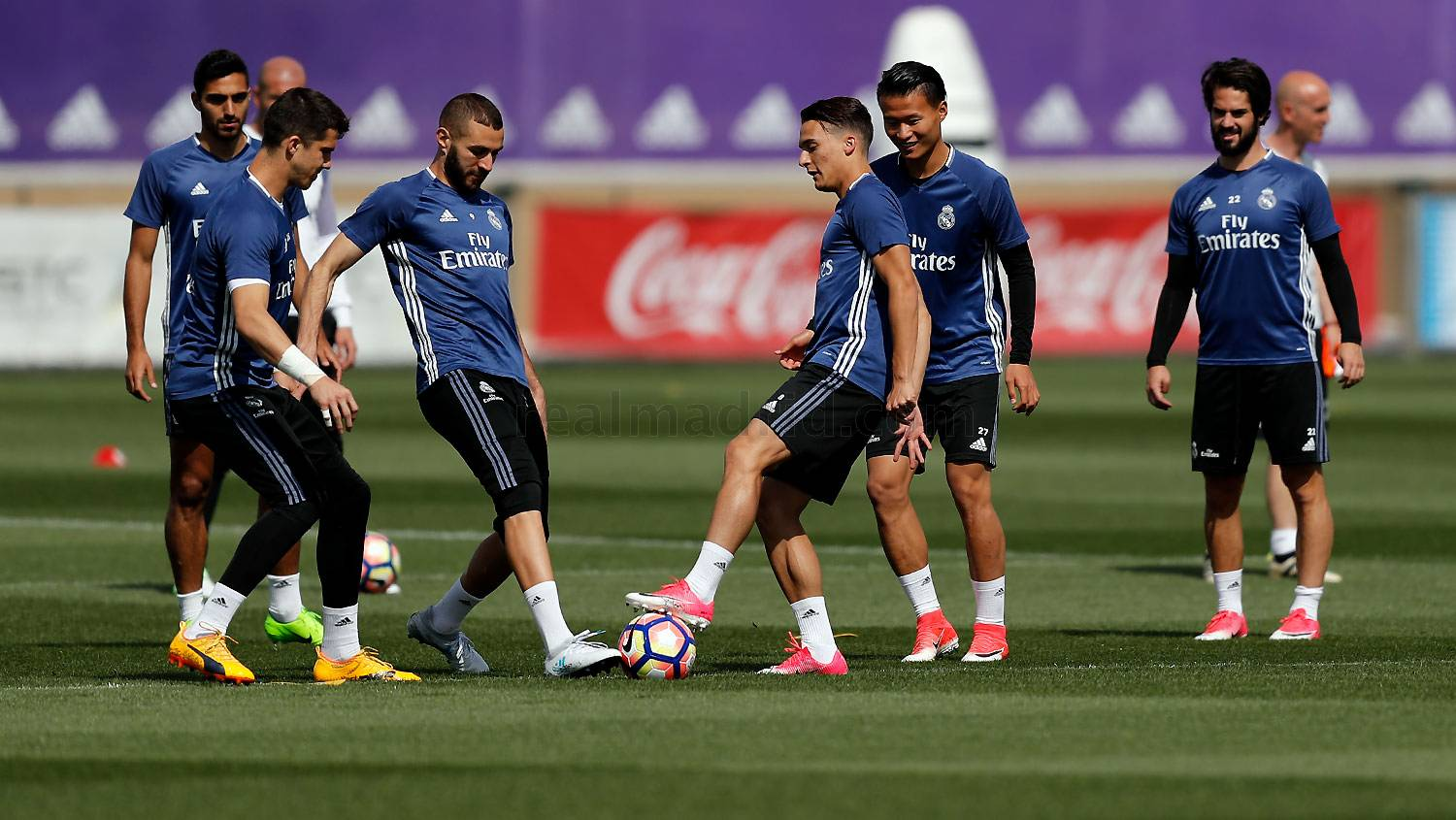 Real Madrid - Entrenamiento del Real Madrid - 15-05-2017
