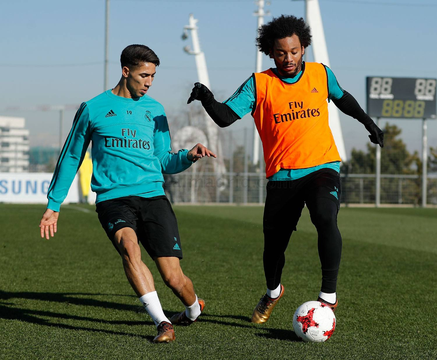 Real Madrid - Entrenamiento del Real Madrid - 17-01-2018